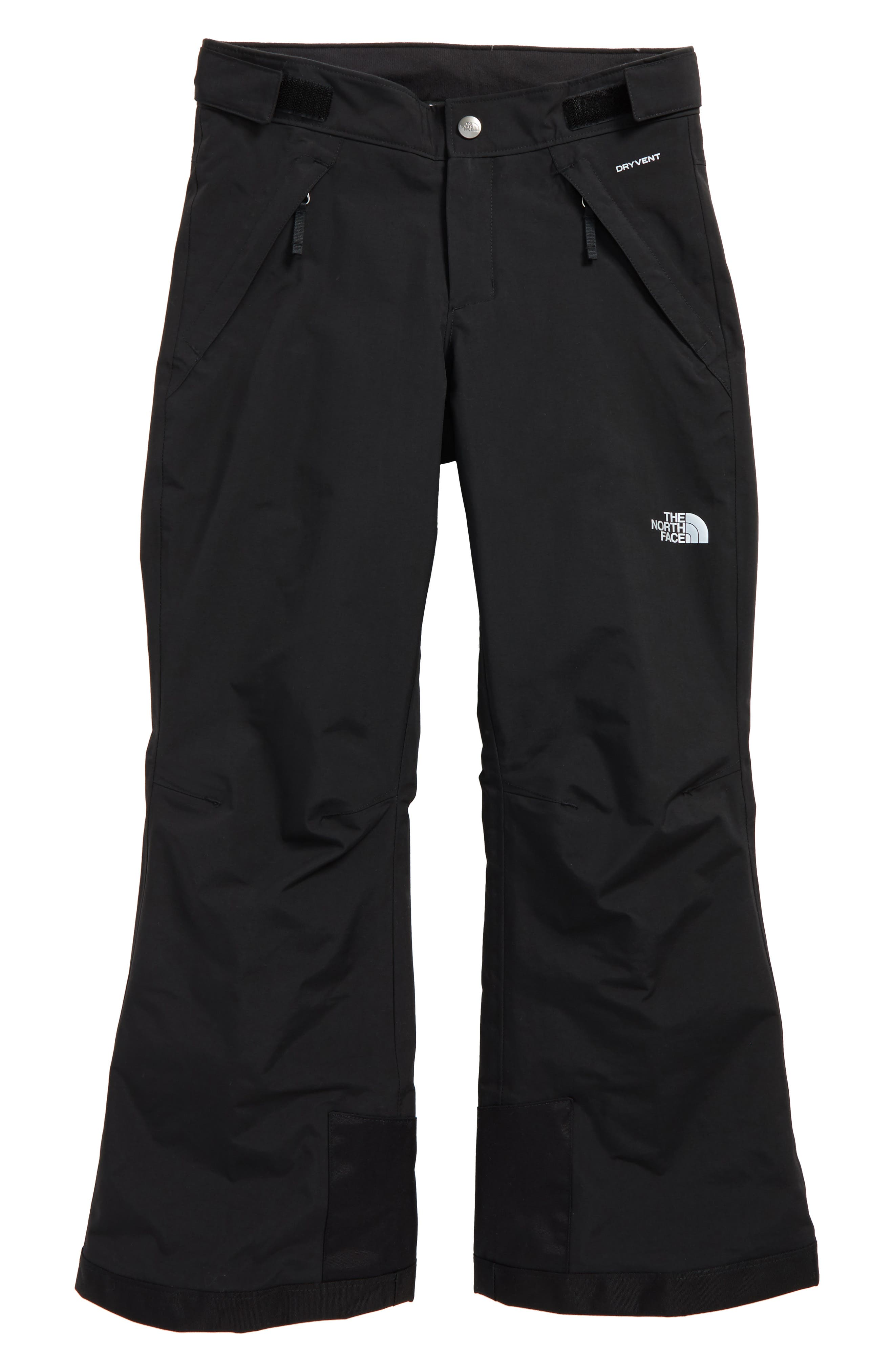 Girls The North Face Freedom Waterproof Heatseeker(TM) Insulated Snow Pants Size M (1012)  Black