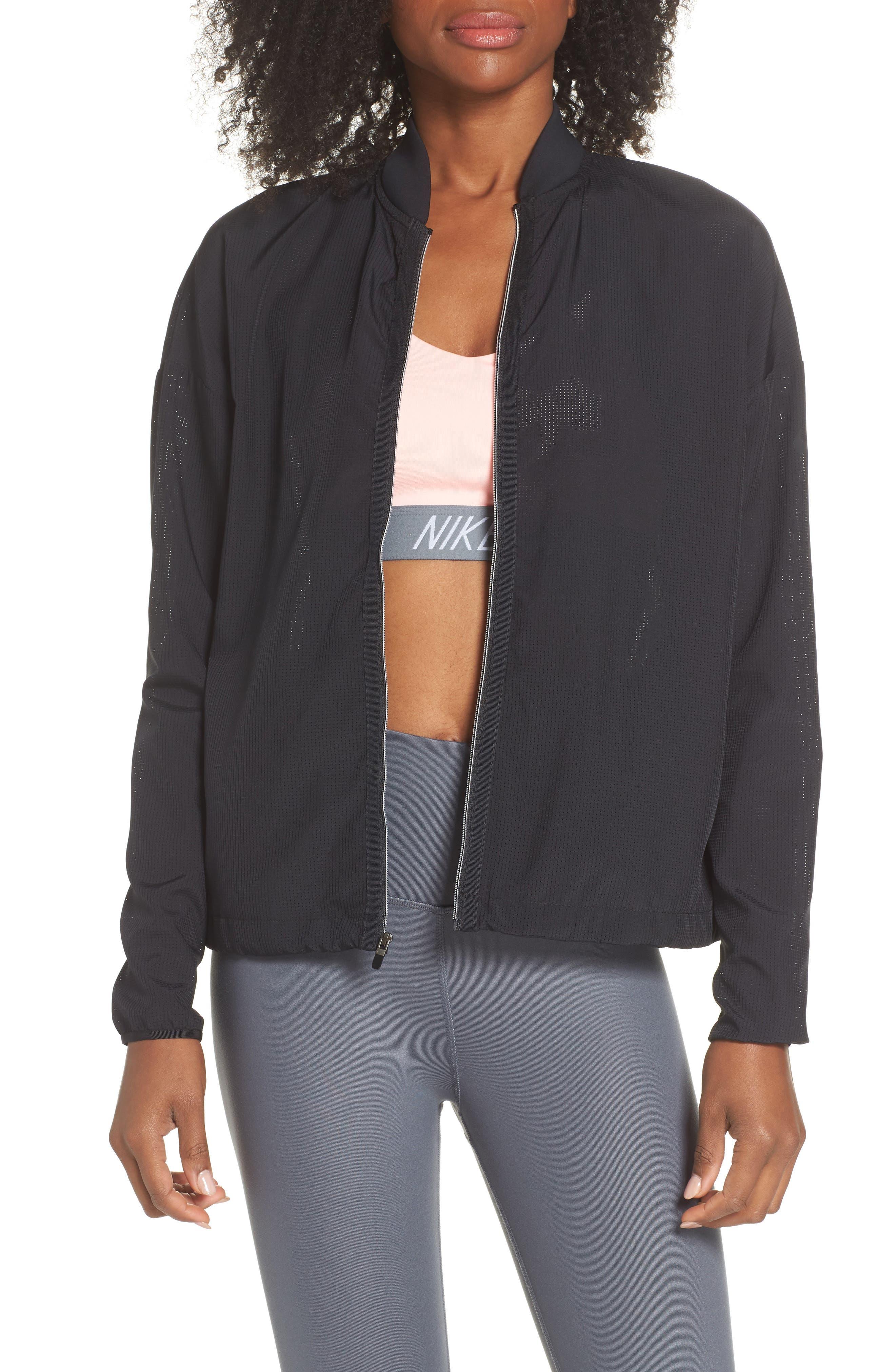 NIKE Flex Bliss Training Jacket, Main, color, 010