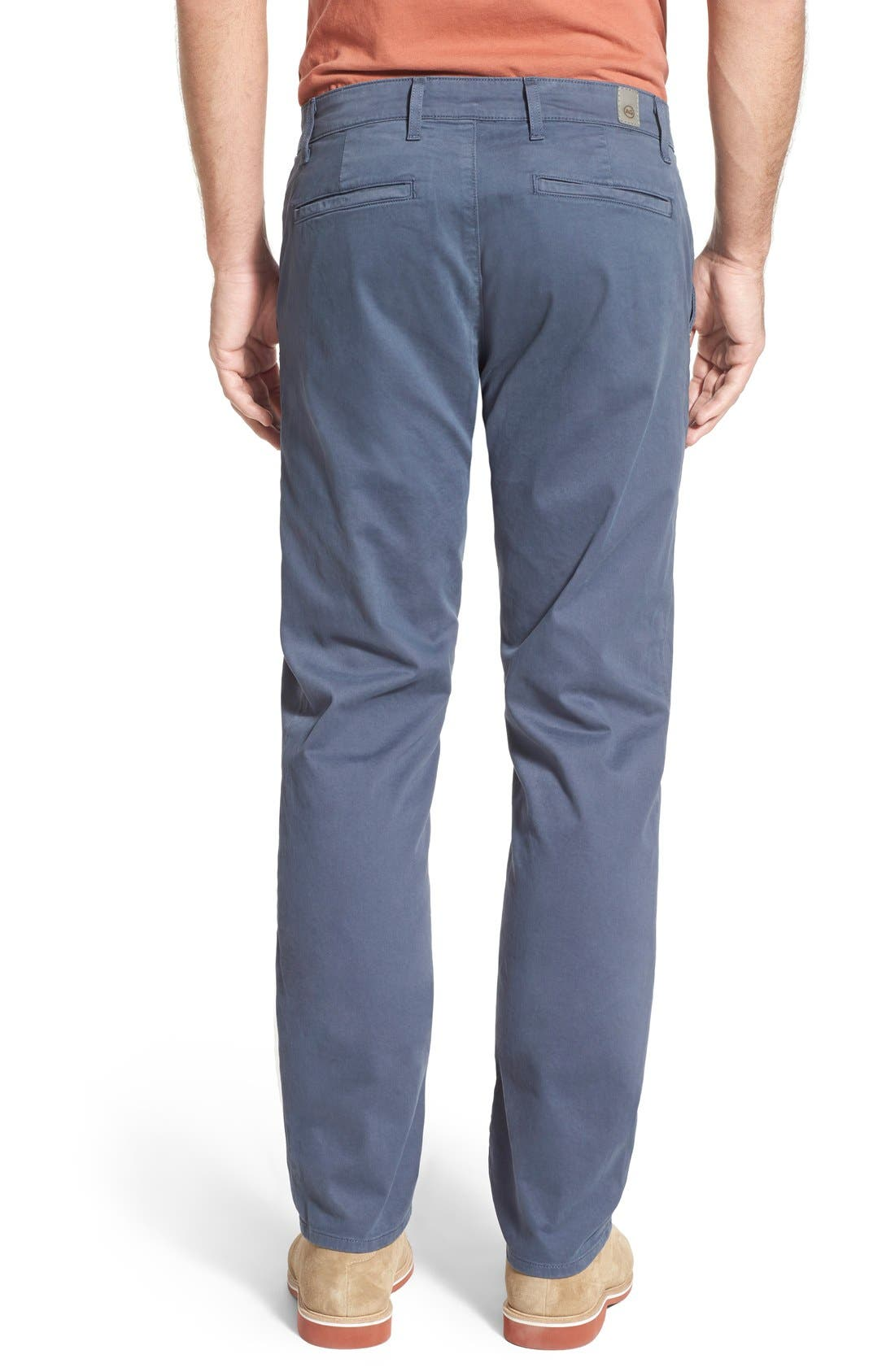 'The Lux' Tailored Straight Leg Chinos,                             Alternate thumbnail 22, color,