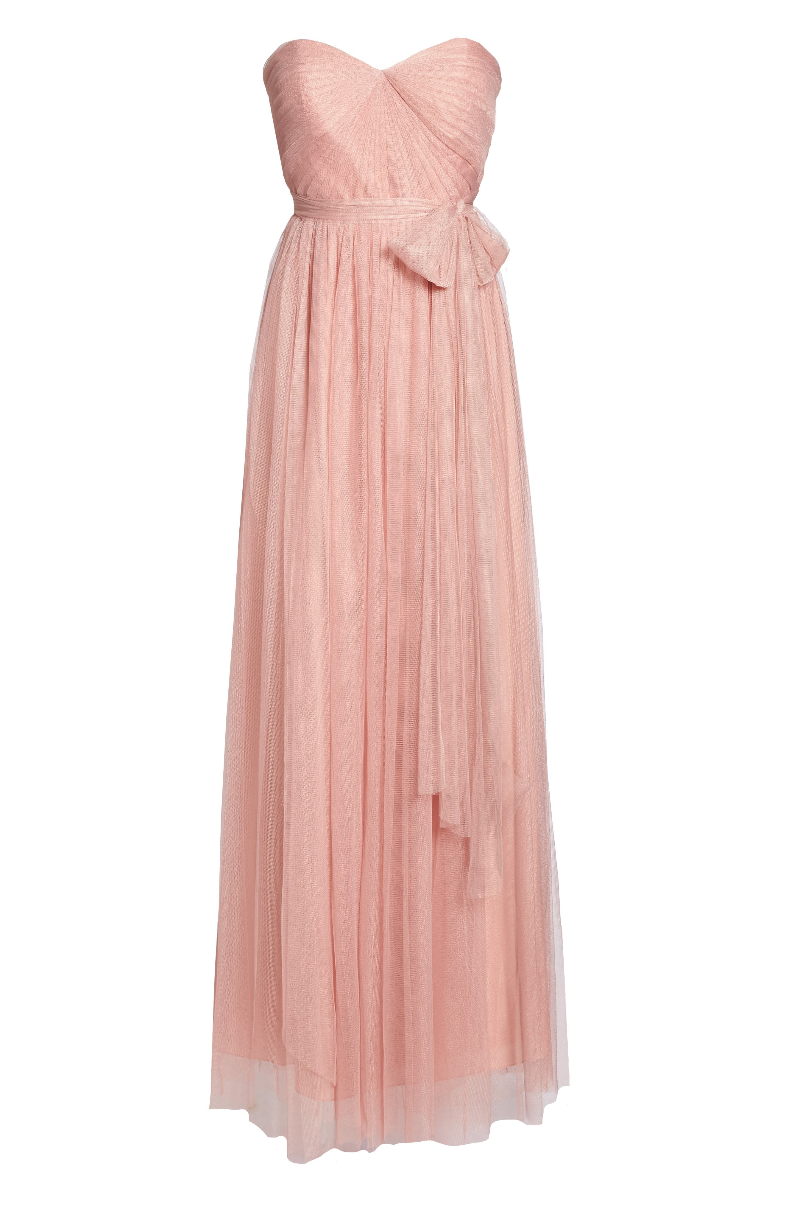 Annabelle Convertible Tulle Column Dress,                             Alternate thumbnail 169, color,