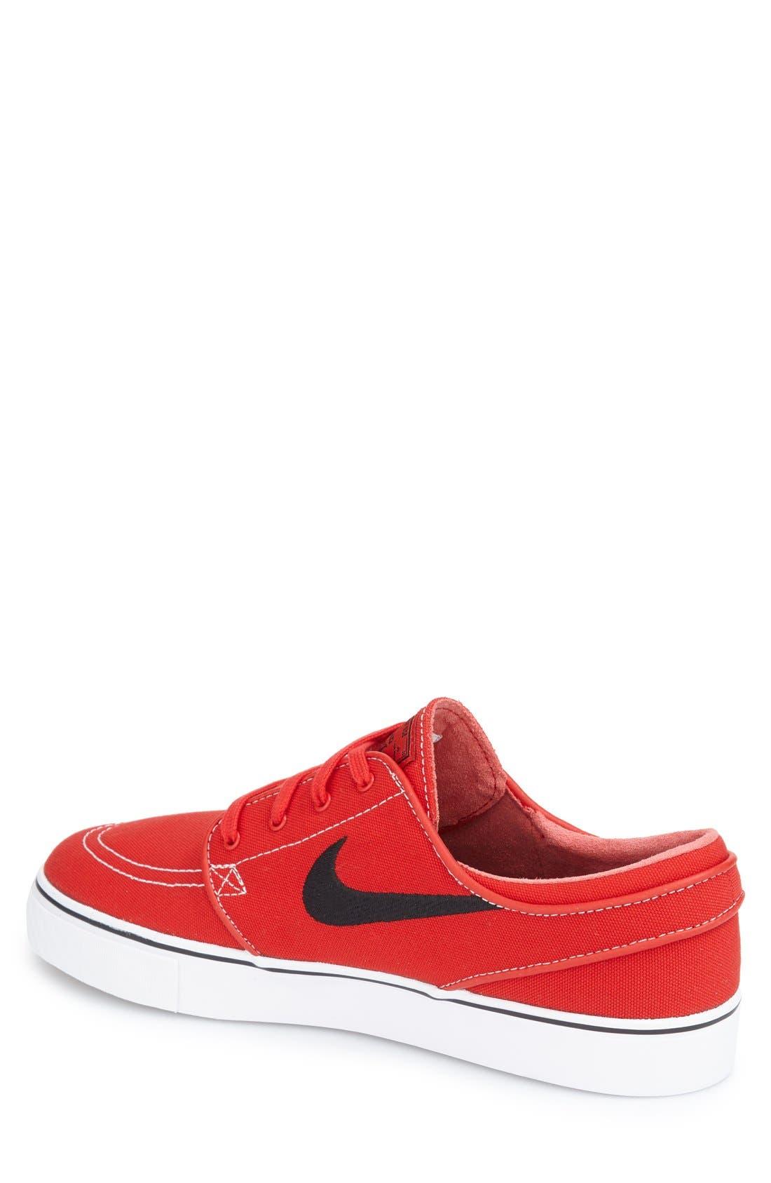 Zoom - Stefan Janoski SB Canvas Skate Shoe,                             Alternate thumbnail 168, color,