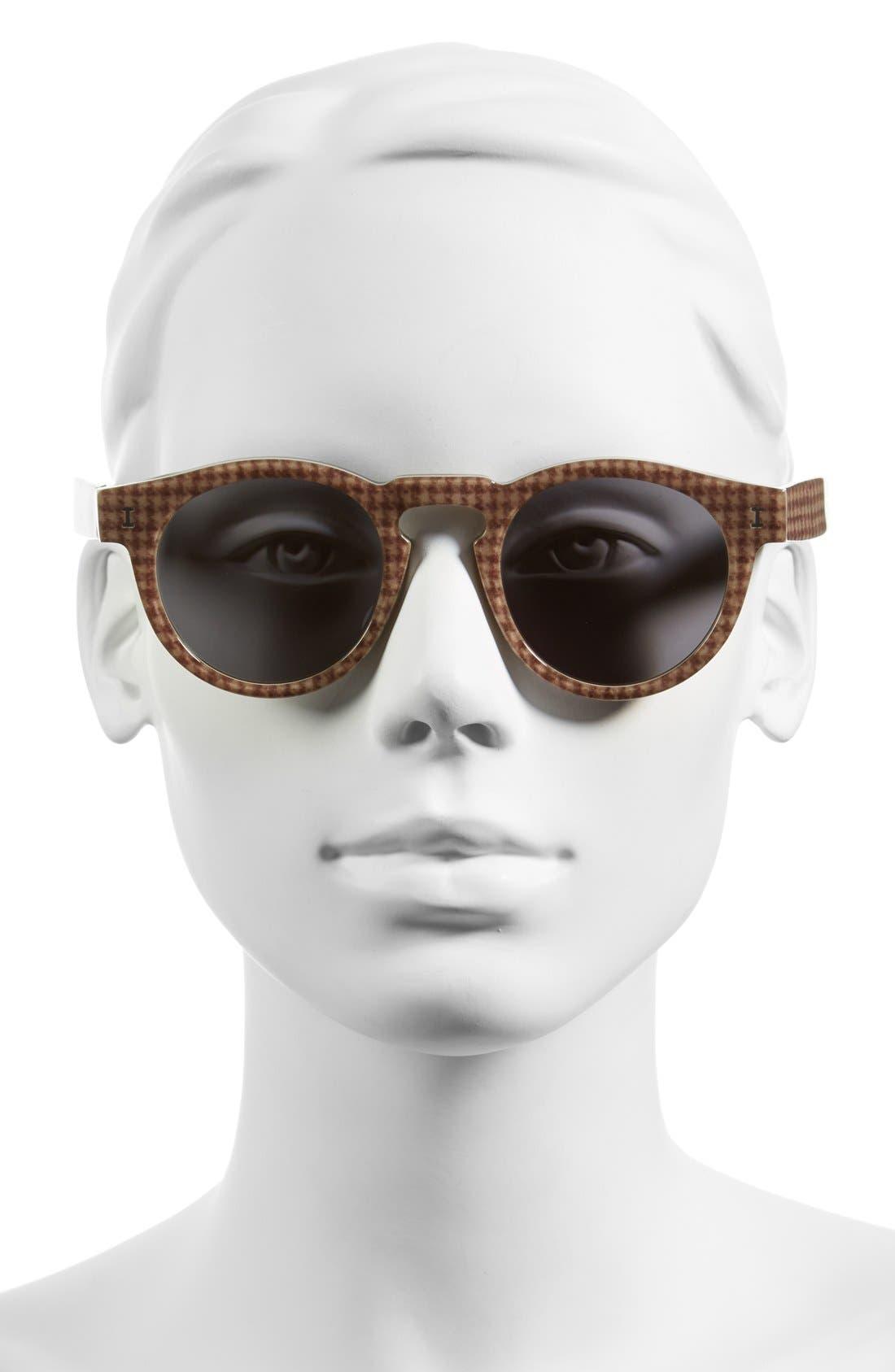 'Leonard' 47mm Sunglasses,                             Alternate thumbnail 111, color,