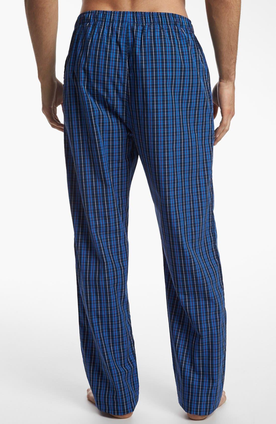 POLO RALPH LAUREN,                             Woven Pajama Pants,                             Alternate thumbnail 2, color,                             HARWICH PLAID