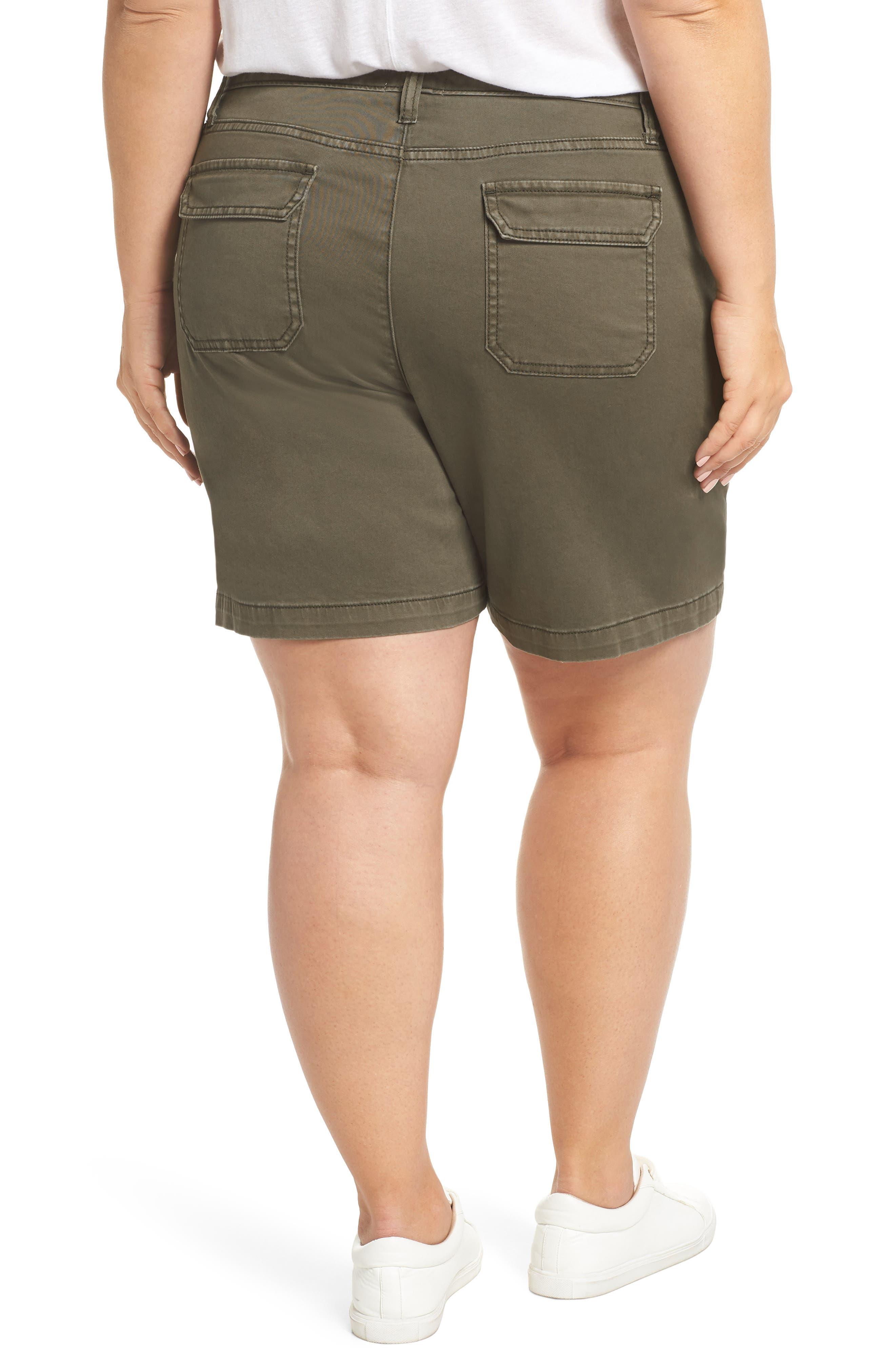 Utility Shorts,                             Alternate thumbnail 2, color,                             OLIVE SARMA