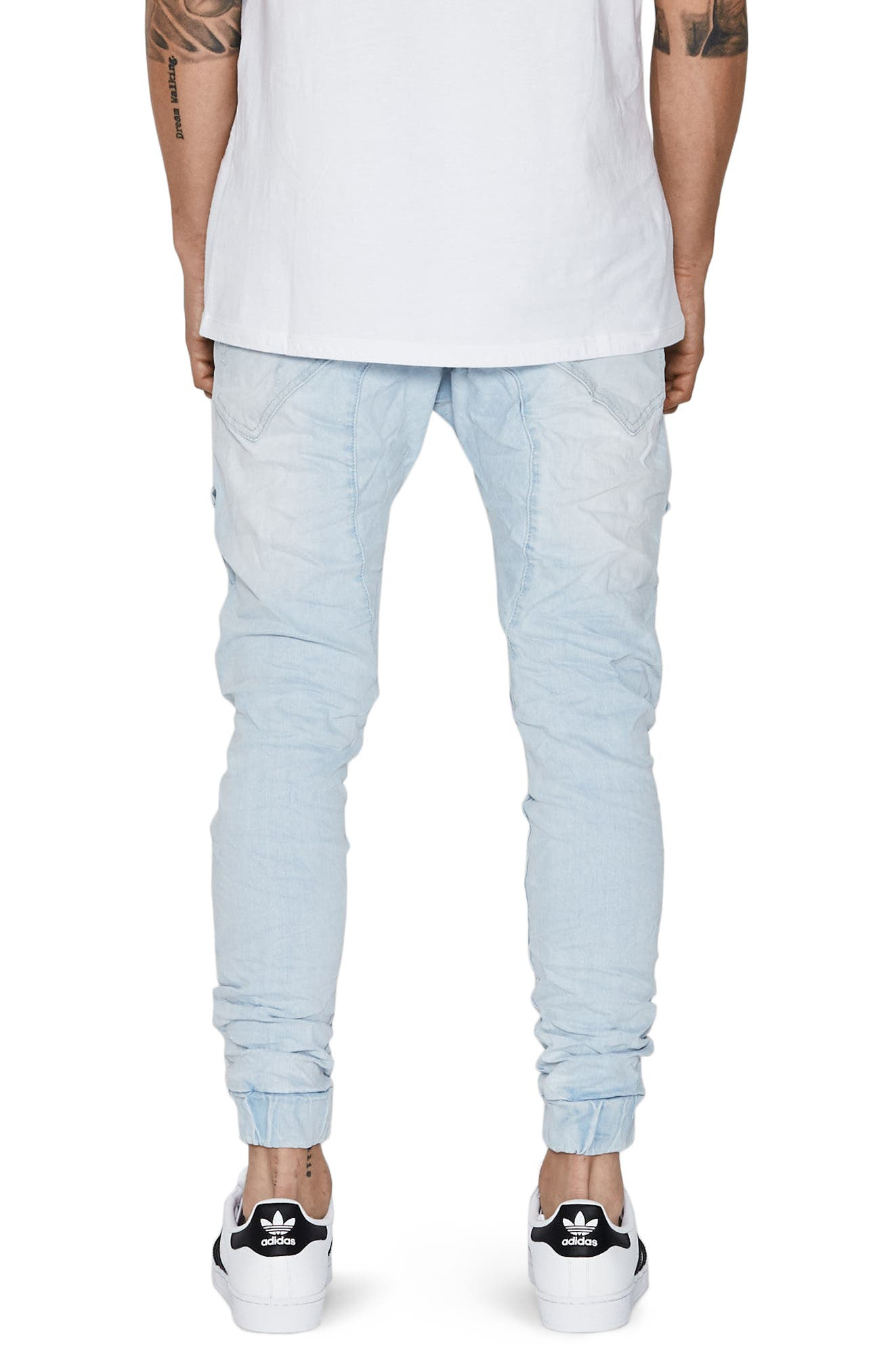 Flight Skinny Denim Jogger Pants,                             Alternate thumbnail 15, color,