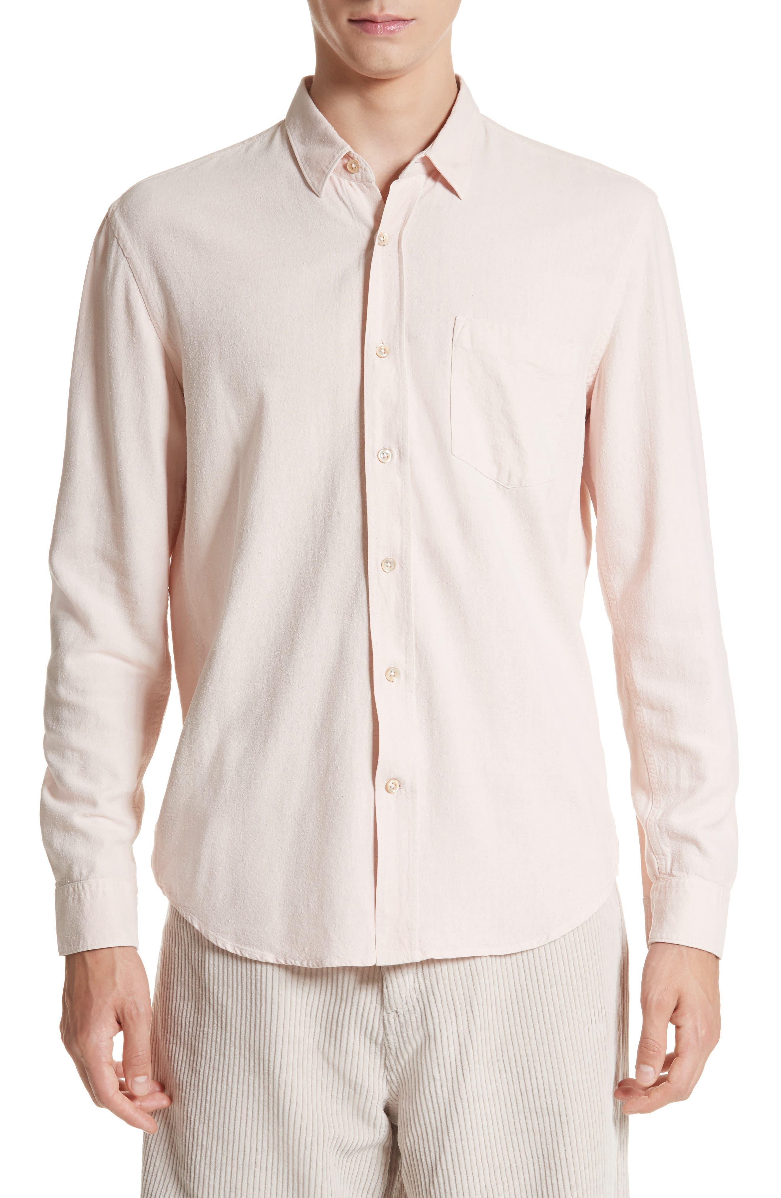 Classic Silk Shirt,                             Main thumbnail 1, color,                             650