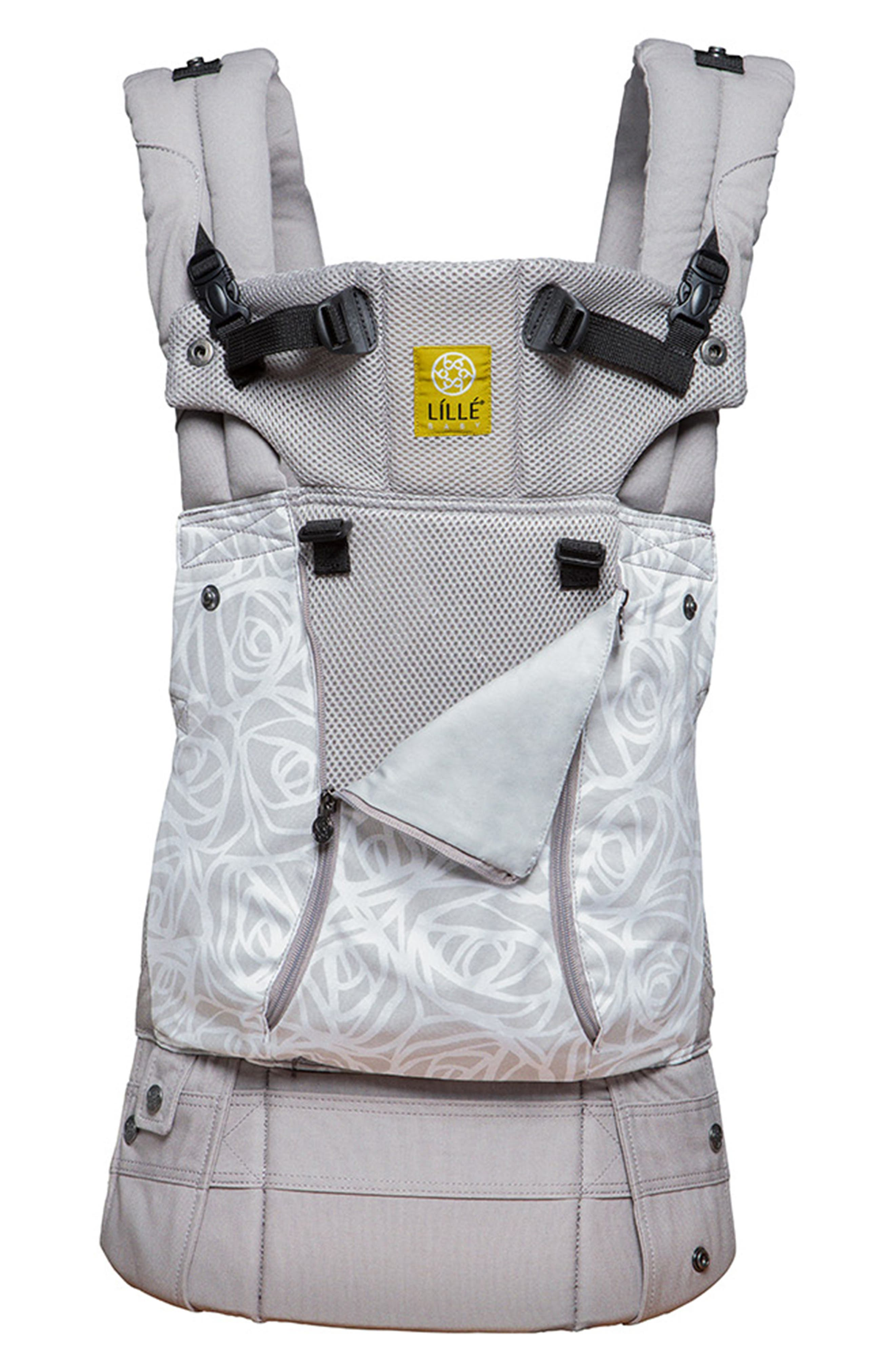 All Seasons - Frosted Rose Baby Carrier, Main, color, FROSTED ROSE