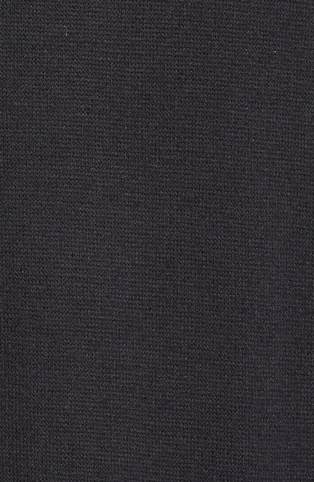 CASLON<SUP>®</SUP>,                             Three Quarter Sleeve Side Slit Tunic,                             Alternate thumbnail 10, color,                             001