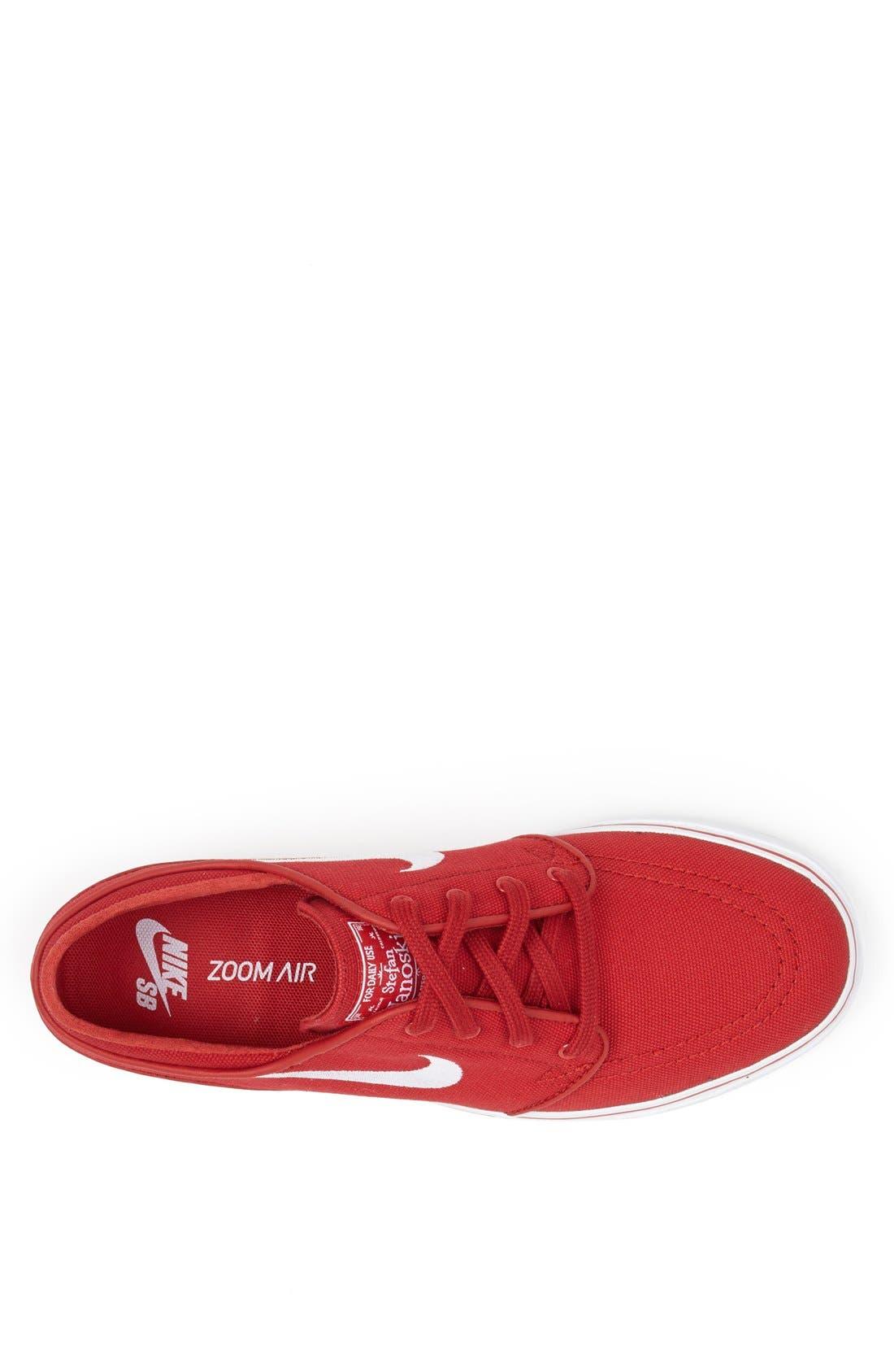 Zoom - Stefan Janoski SB Canvas Skate Shoe,                             Alternate thumbnail 125, color,