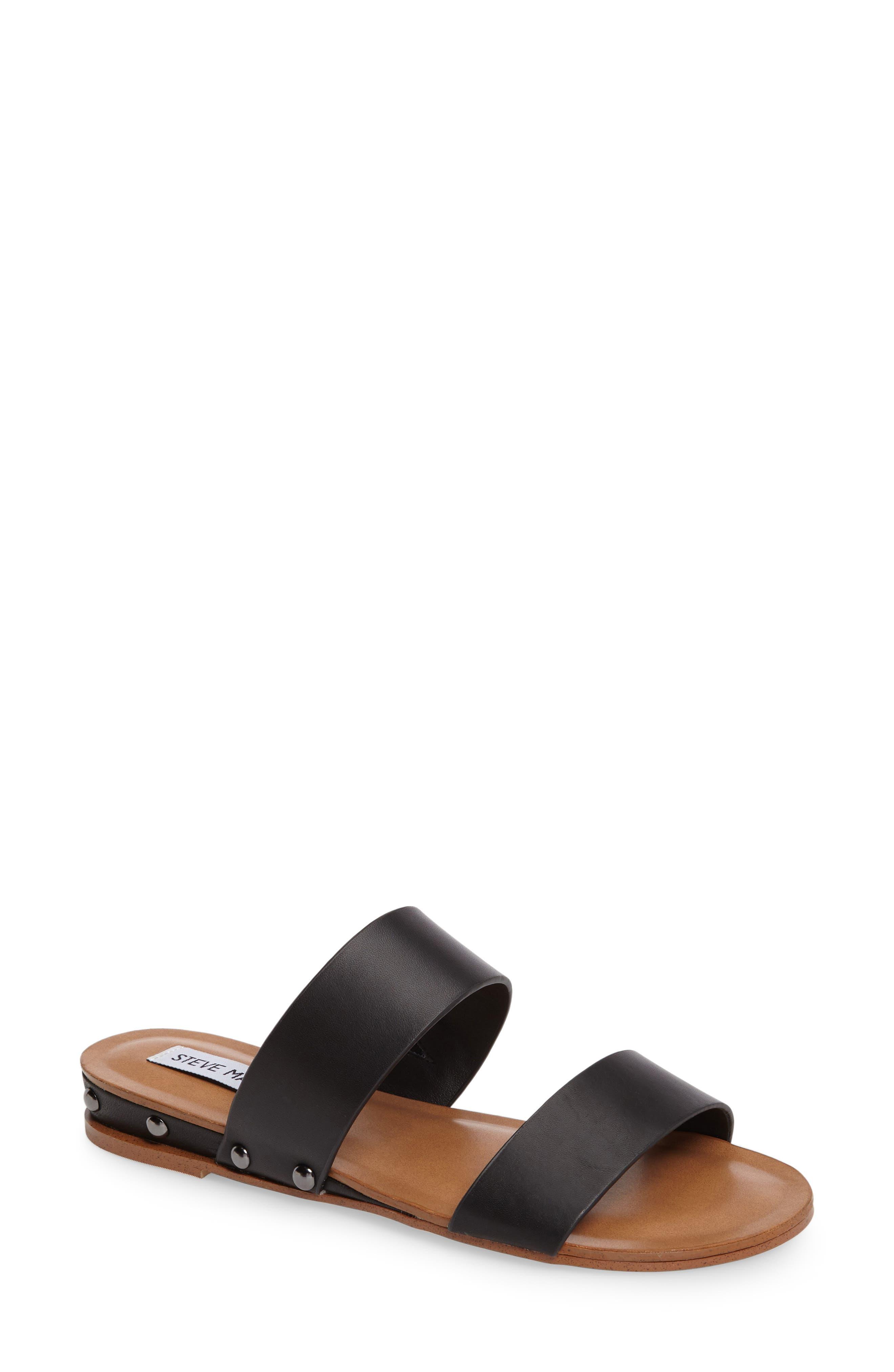 STEVE MADDEN Dakotas Sandal, Main, color, 001