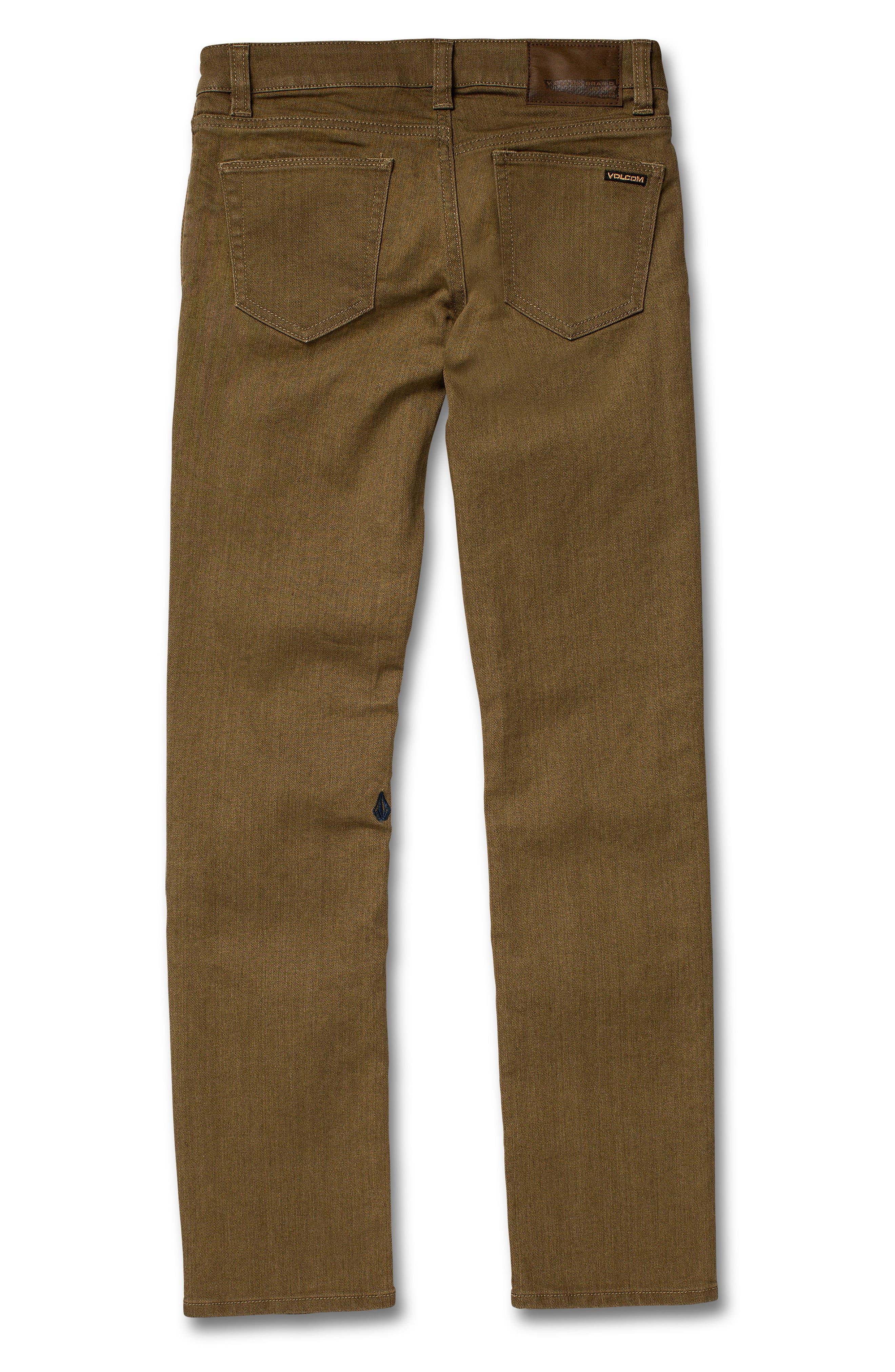 Vorta Slim Fit Jeans,                             Alternate thumbnail 2, color,                             WET SAND