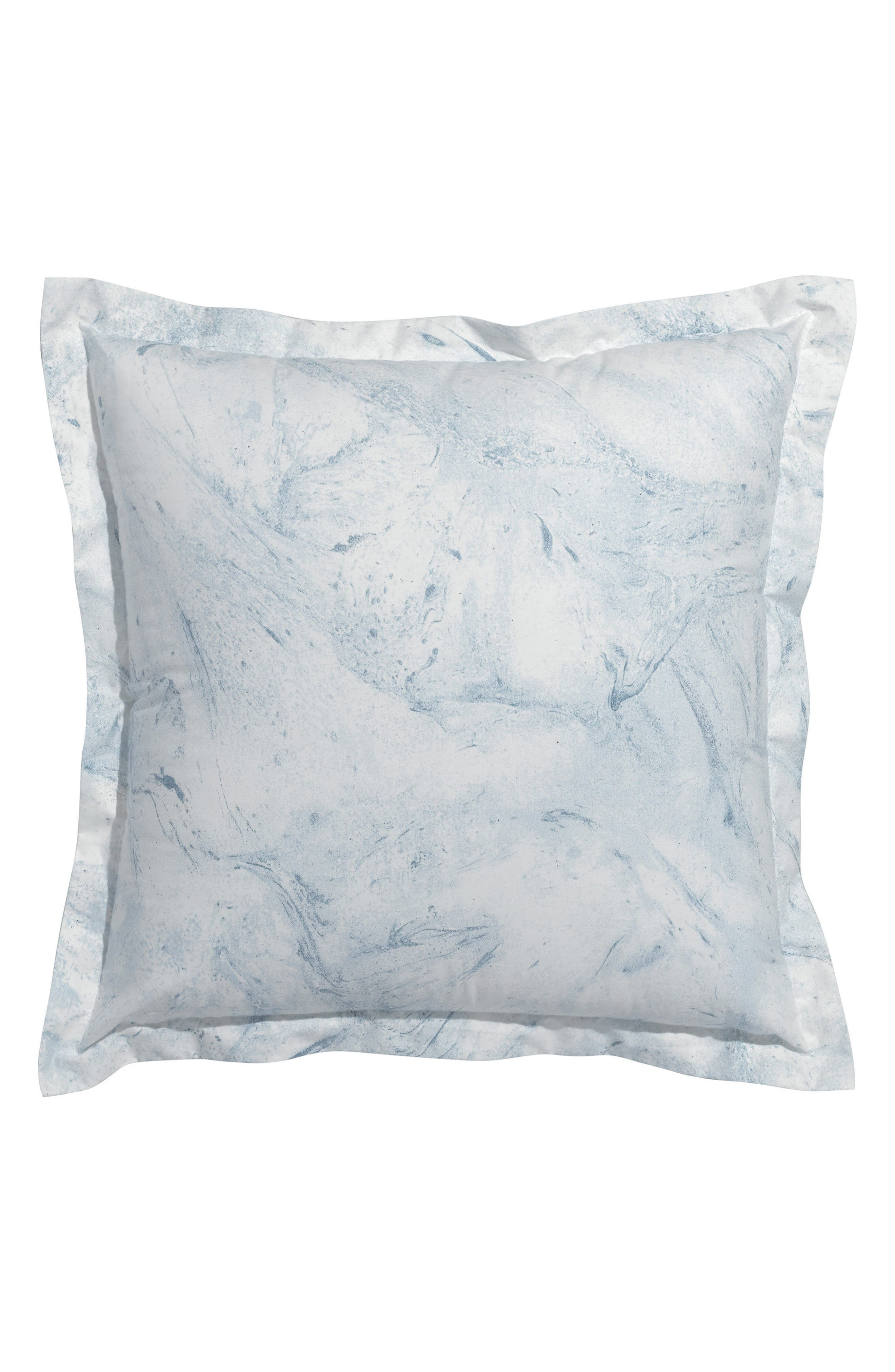 Glacier Bay Square Organic Cotton Accent Pillow,                             Main thumbnail 1, color,