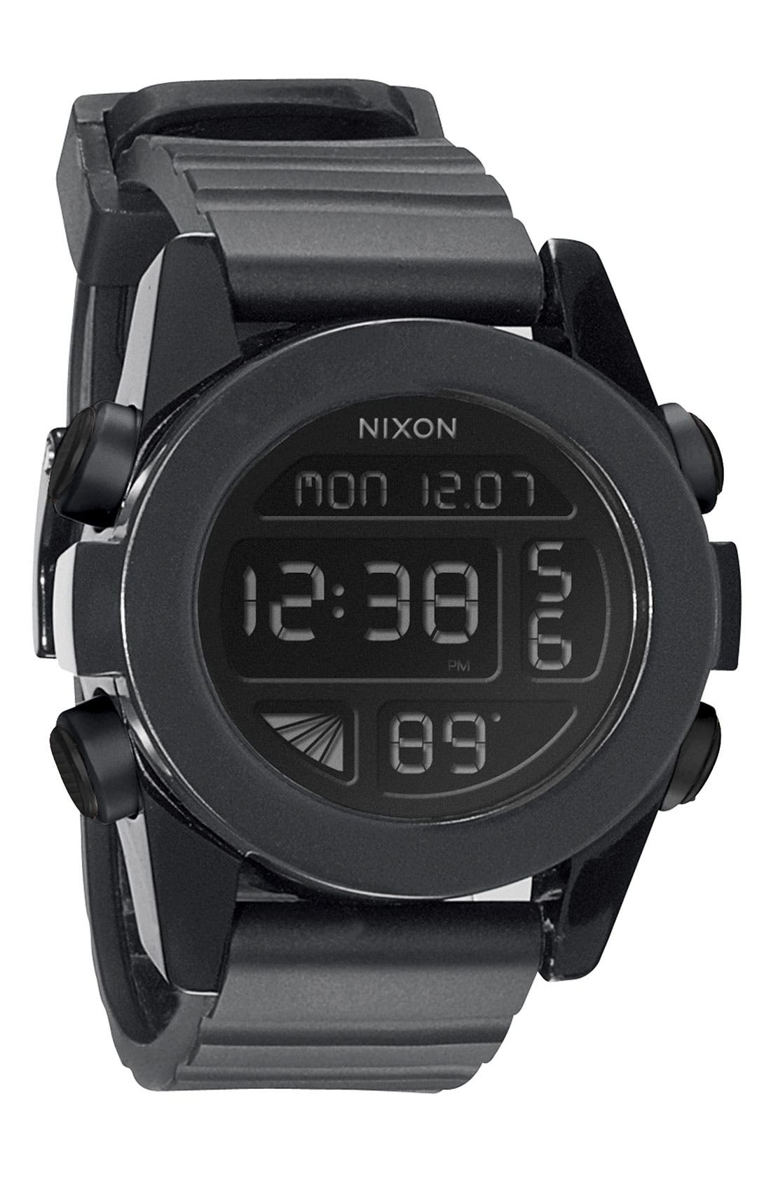 'The Unit' Round Digital Watch, 44mm,                             Main thumbnail 2, color,