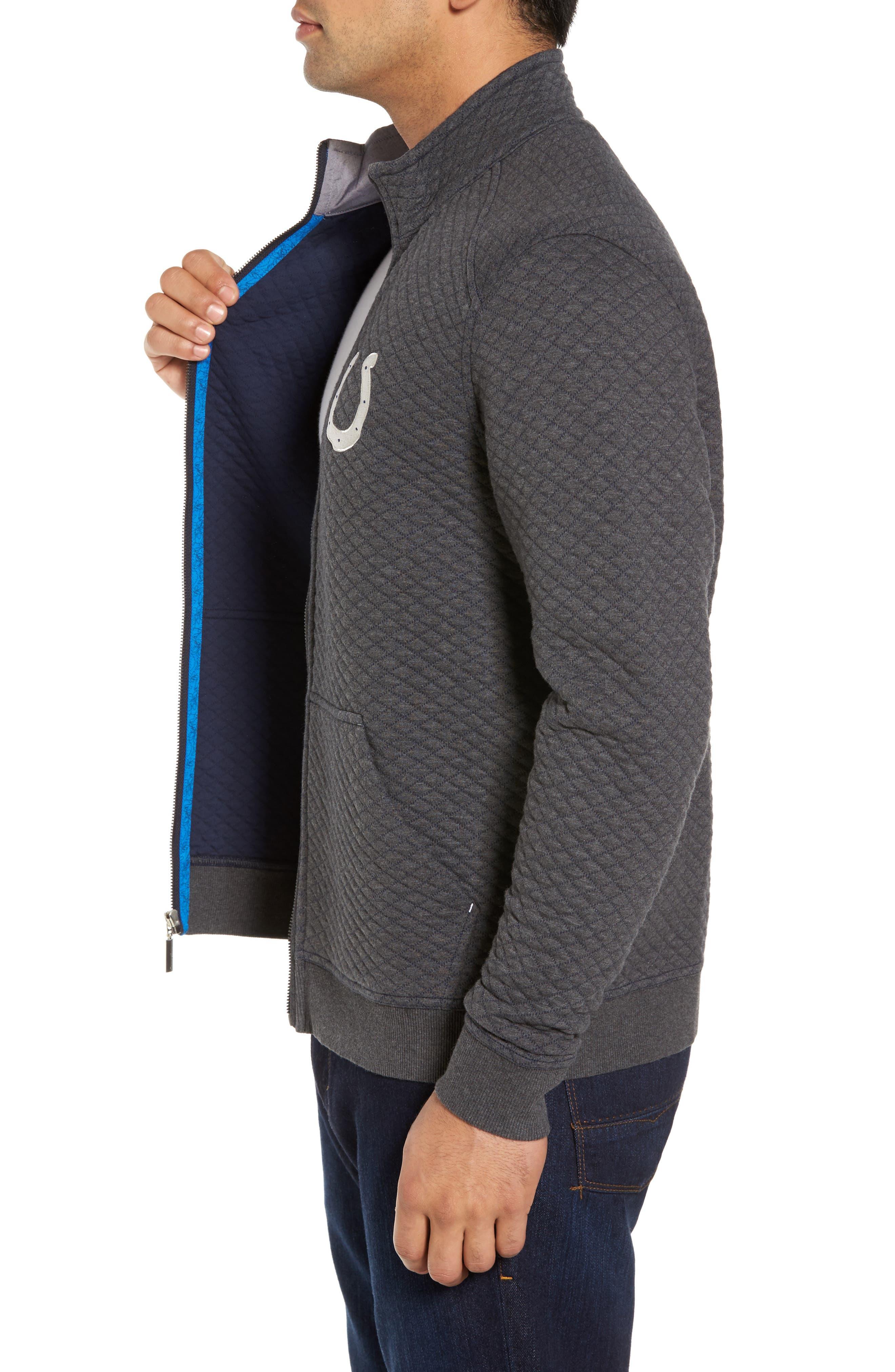 NFL Quiltessential Full Zip Sweatshirt,                             Alternate thumbnail 73, color,
