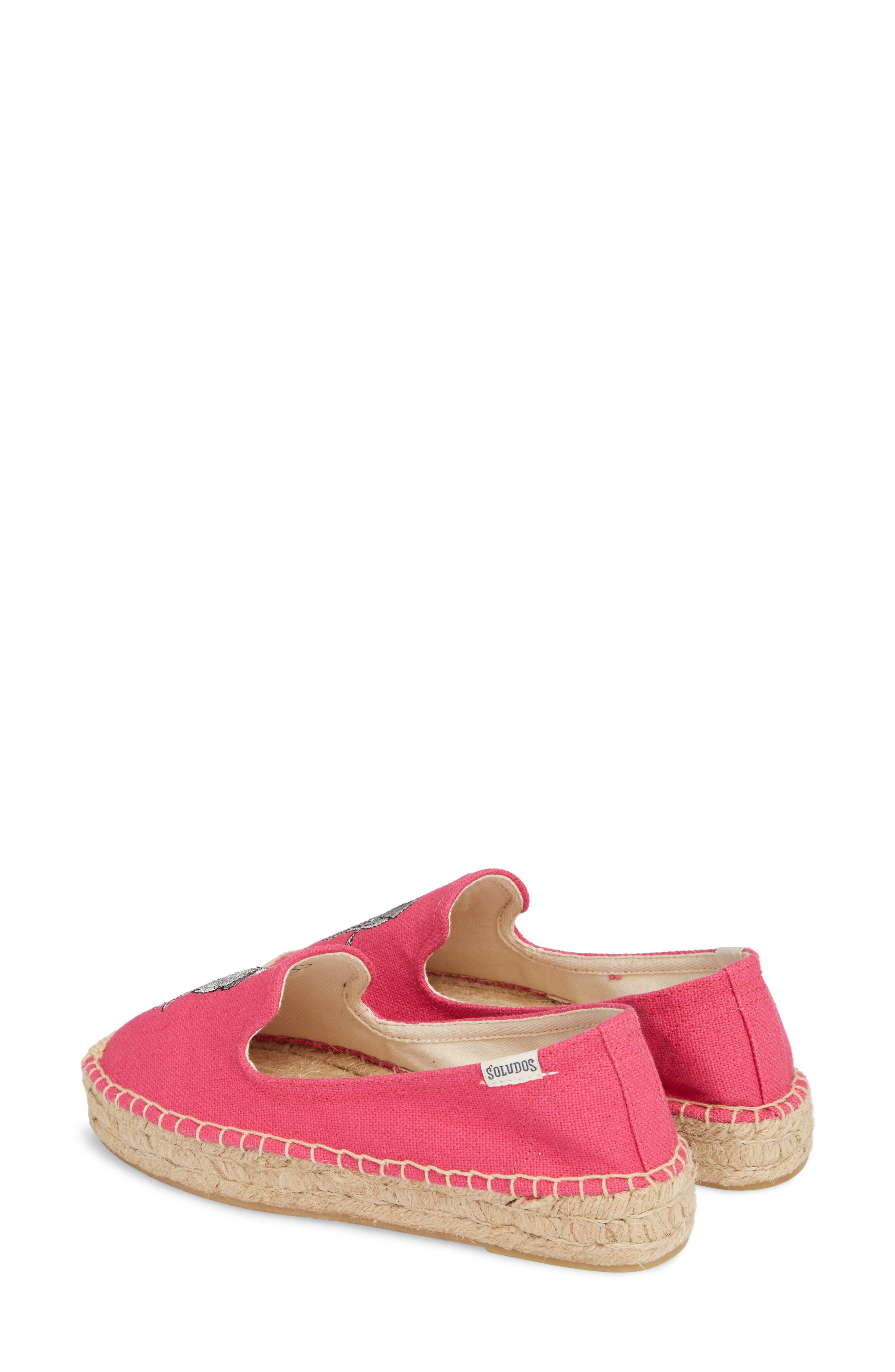 Embroidered Platform Espadrille,                             Alternate thumbnail 2, color,                             652