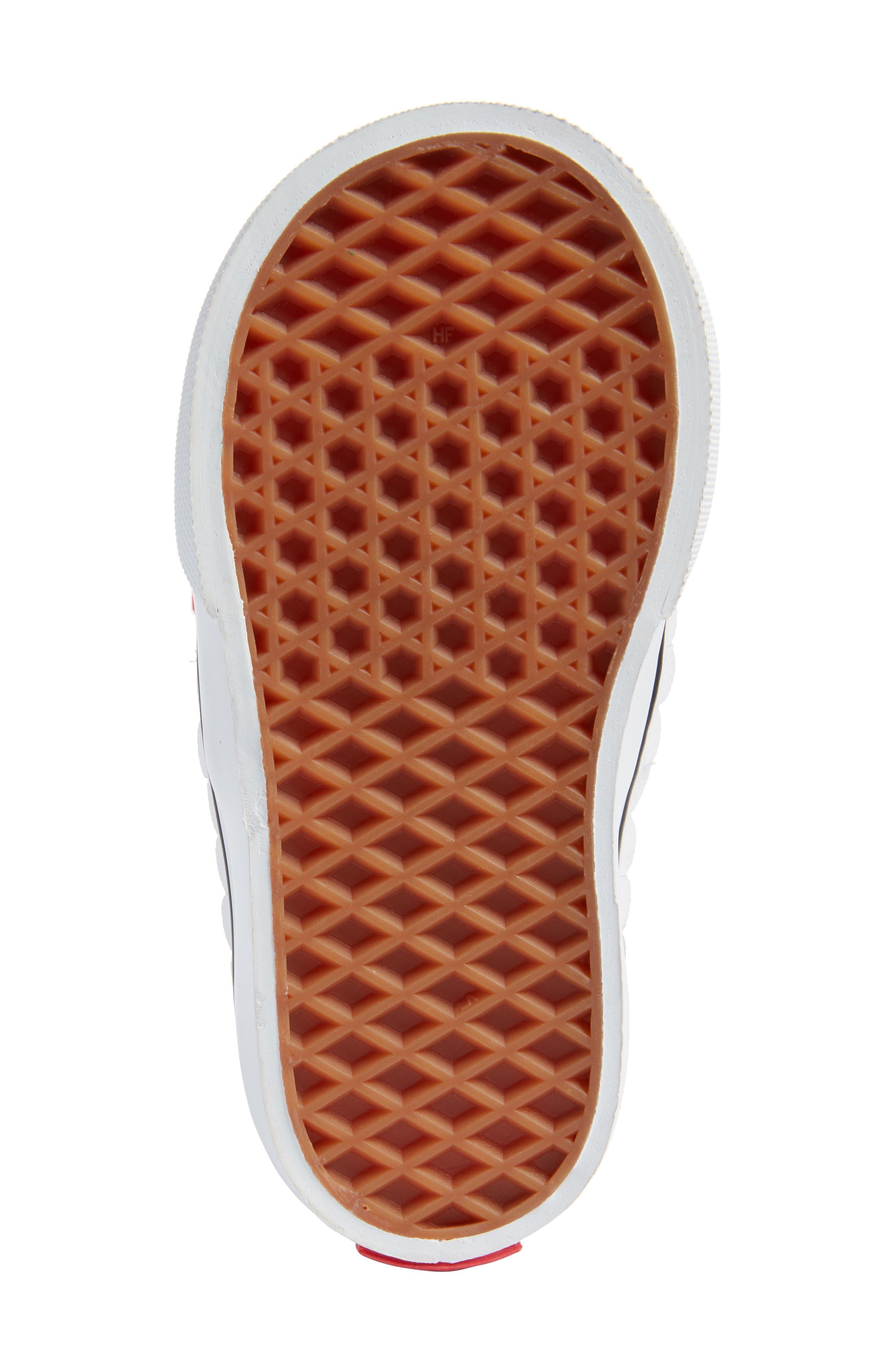 x Disney Authentic Gore Minnie Mouse Bow Slip-On Sneaker,                             Alternate thumbnail 6, color,                             DISNEY MINNIE BOW TRUE WHITE