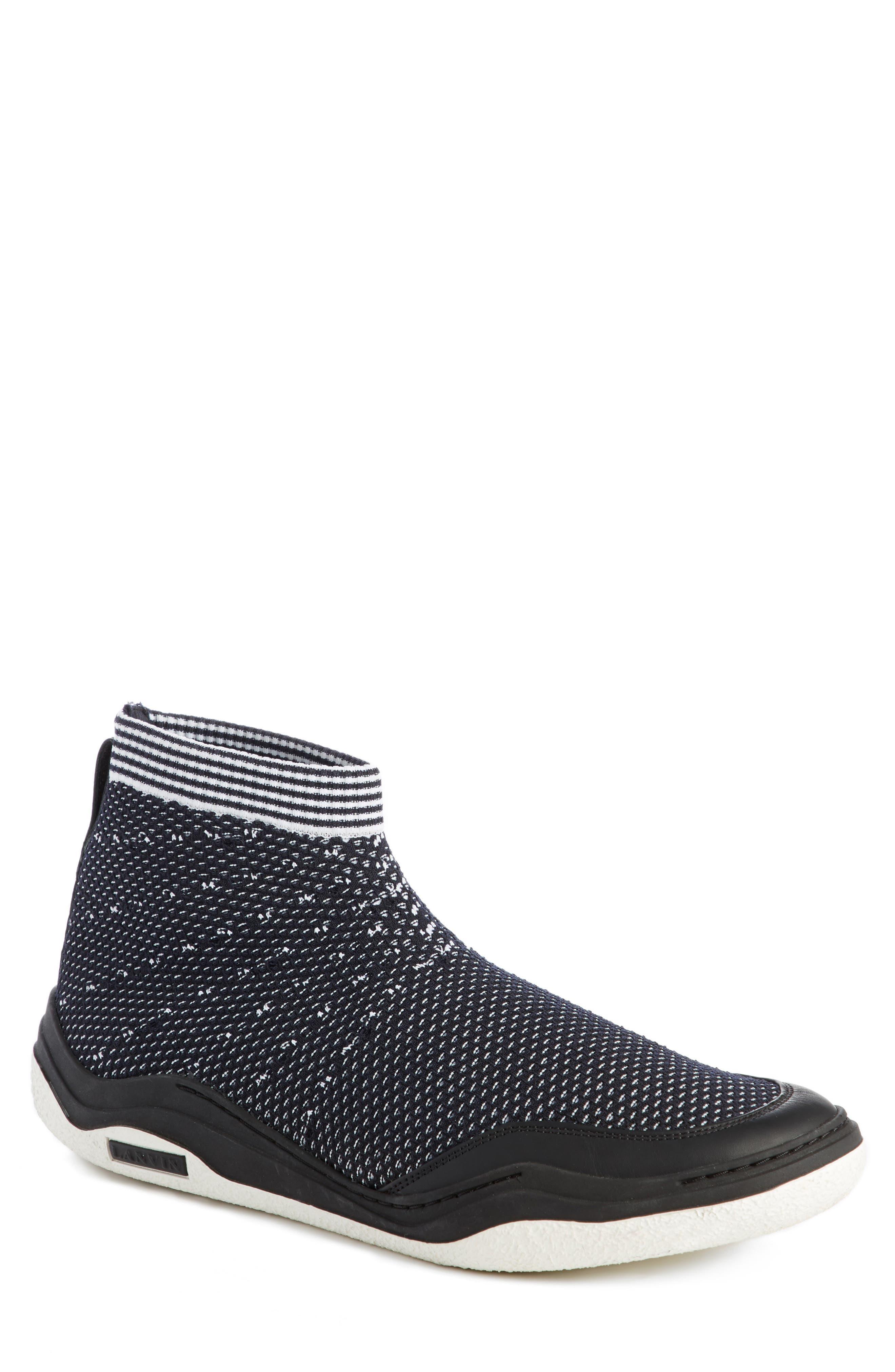 Knit Sneaker,                             Main thumbnail 1, color,                             004