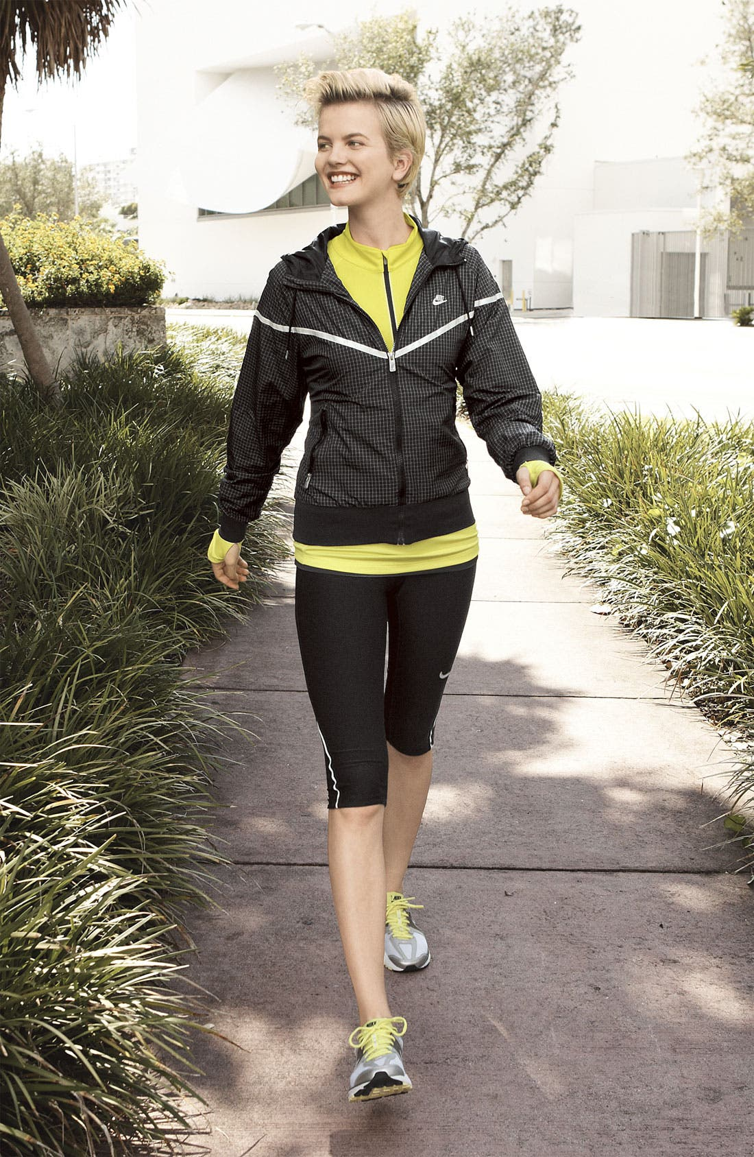 'Denier Differential' Half Zip Running Top,                             Alternate thumbnail 3, color,                             700