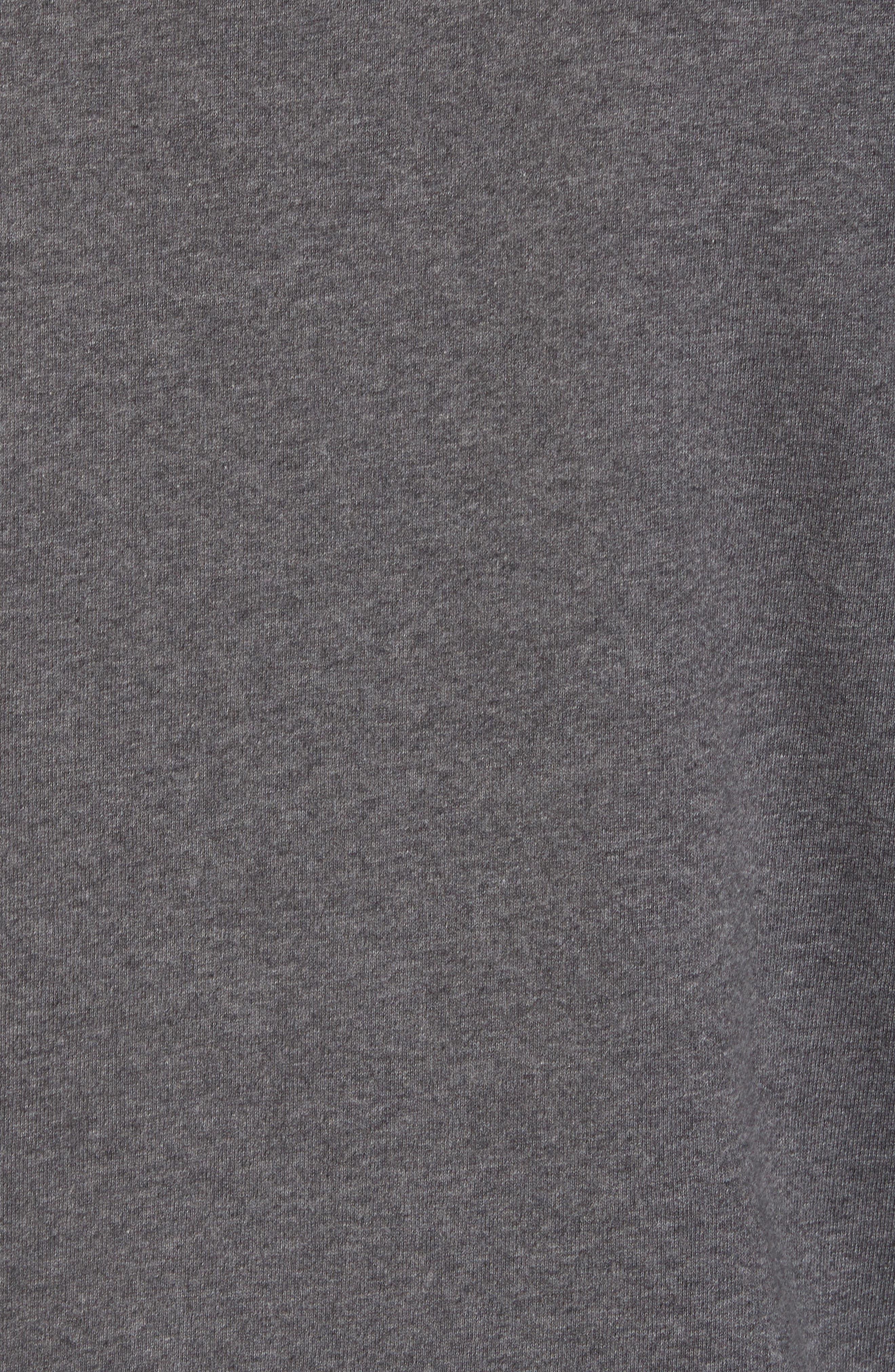 Shorecrest Shawl Collar Pullover,                             Alternate thumbnail 5, color,                             001