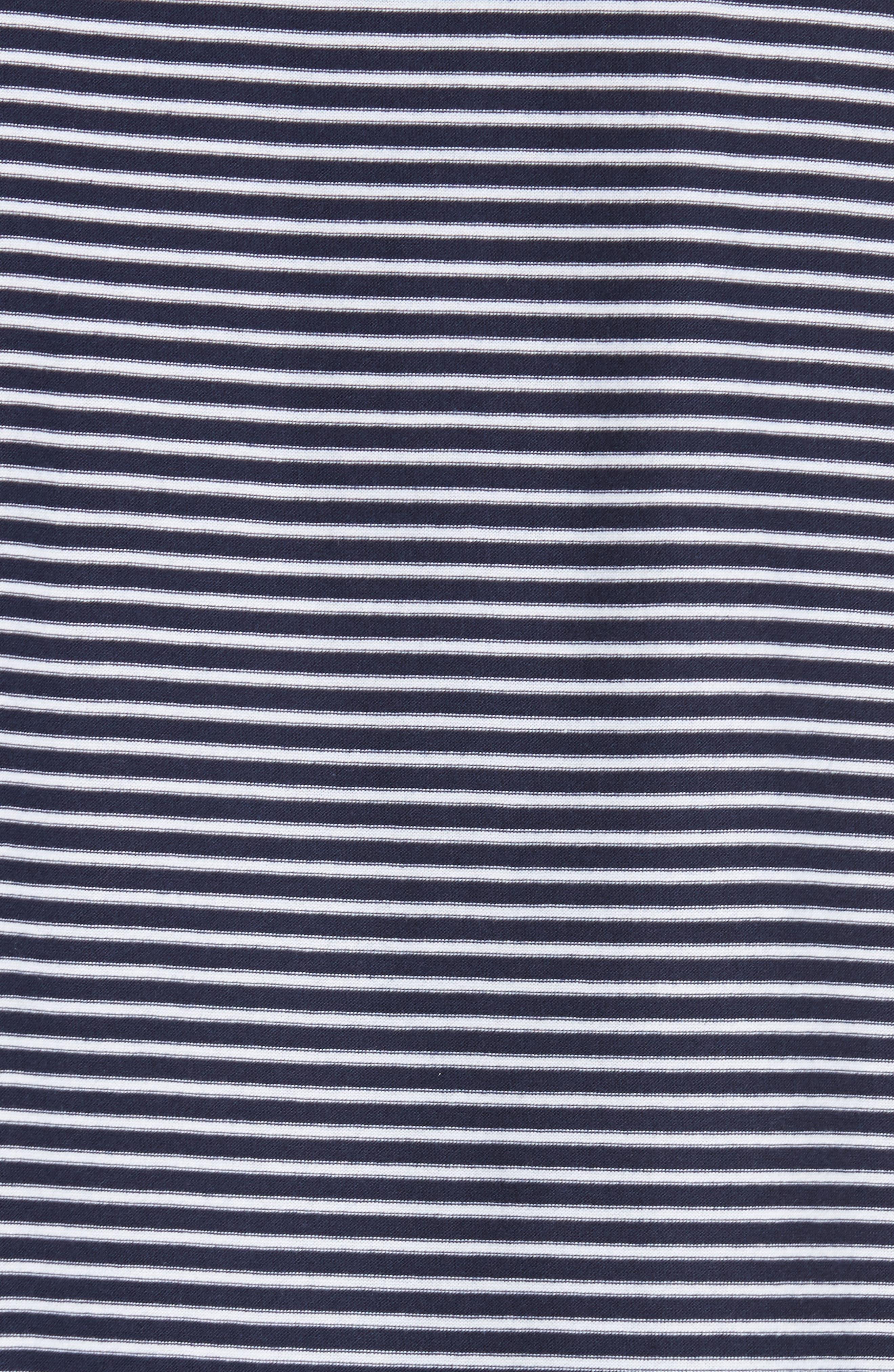 Maui Stripe T-Shirt,                             Alternate thumbnail 5, color,                             410