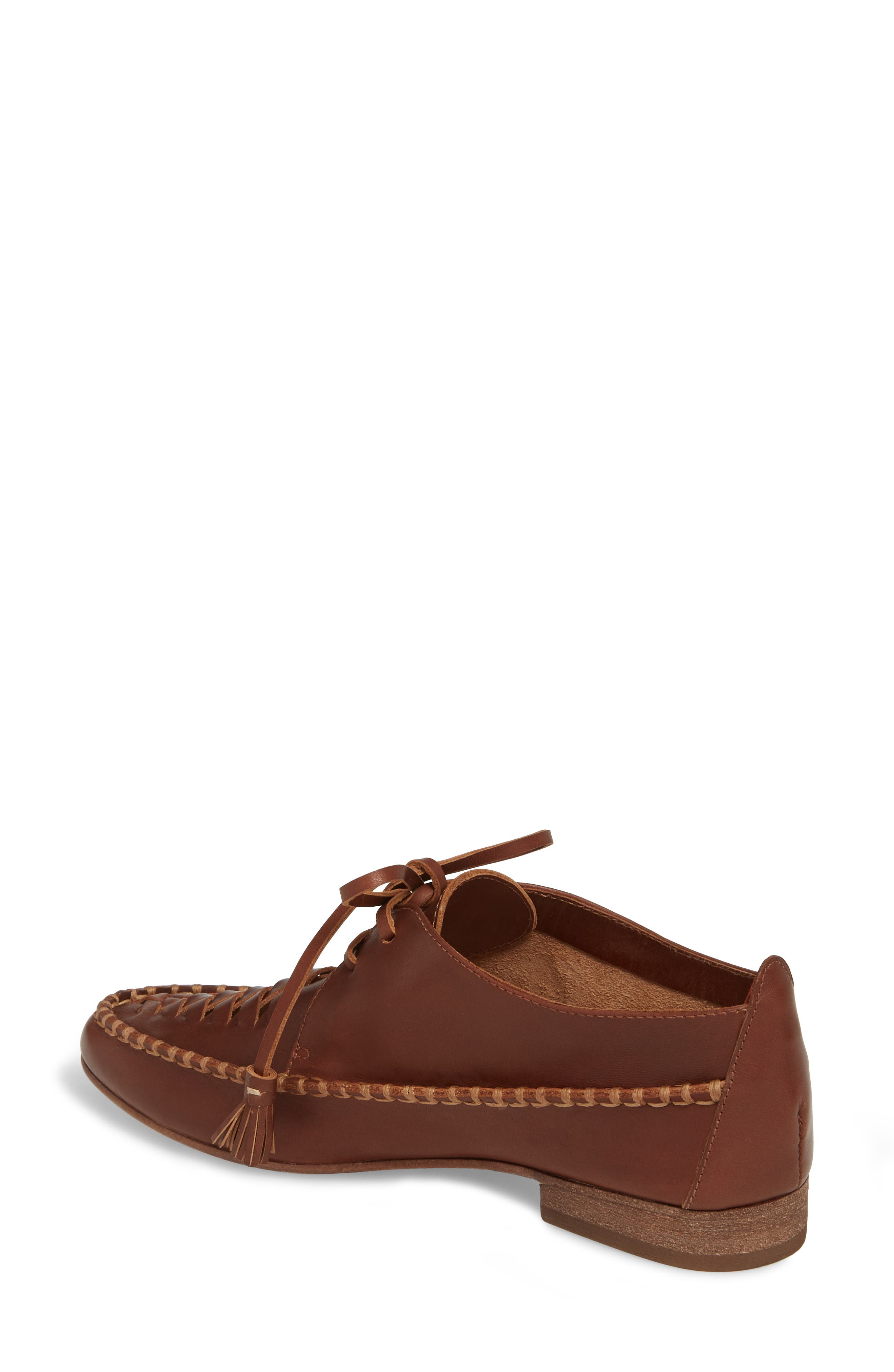 Lake Woven Loafer,                             Alternate thumbnail 2, color,                             CHESTNUT