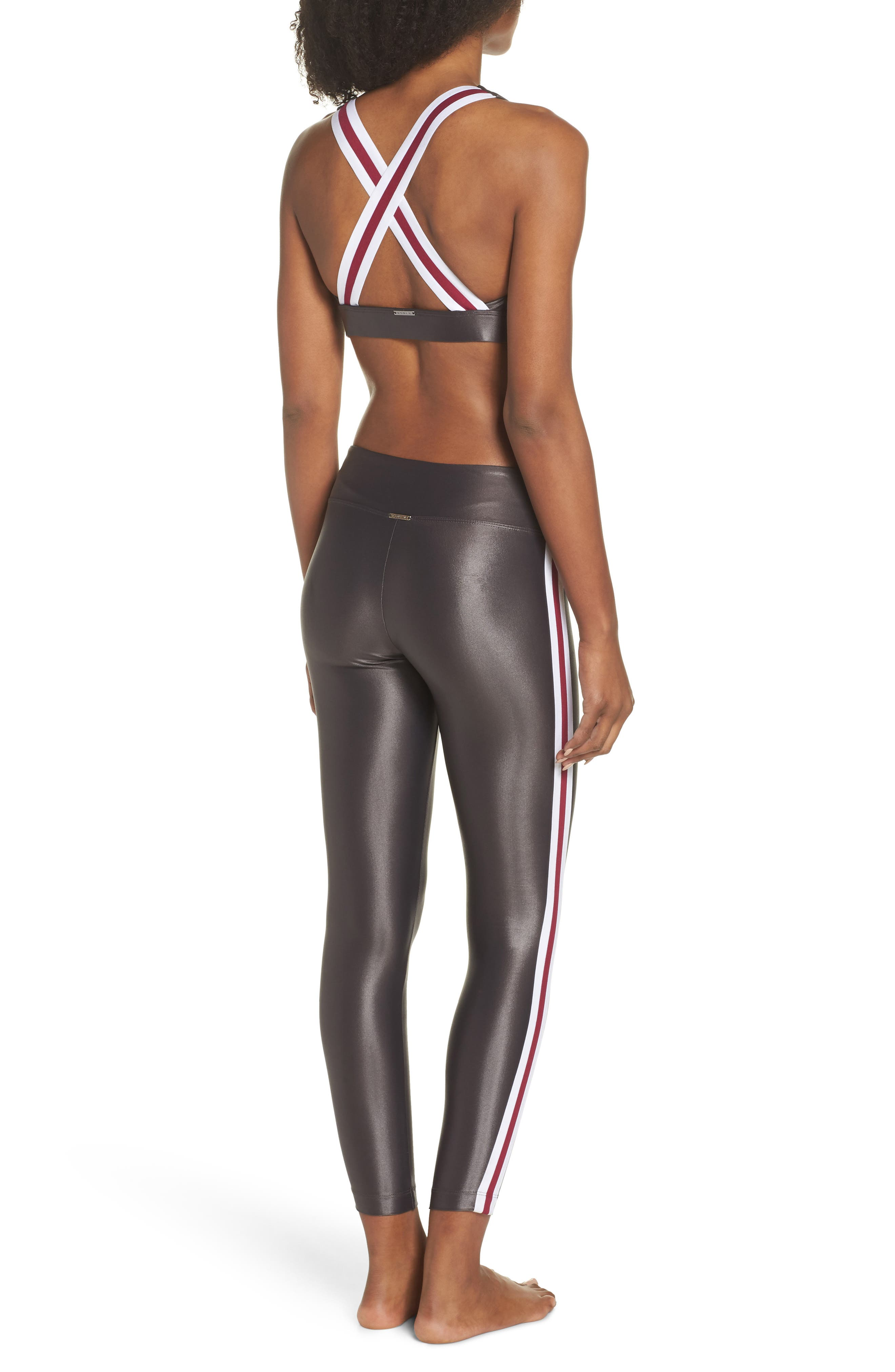 Fame Sports Bra,                             Alternate thumbnail 9, color,                             LEAD