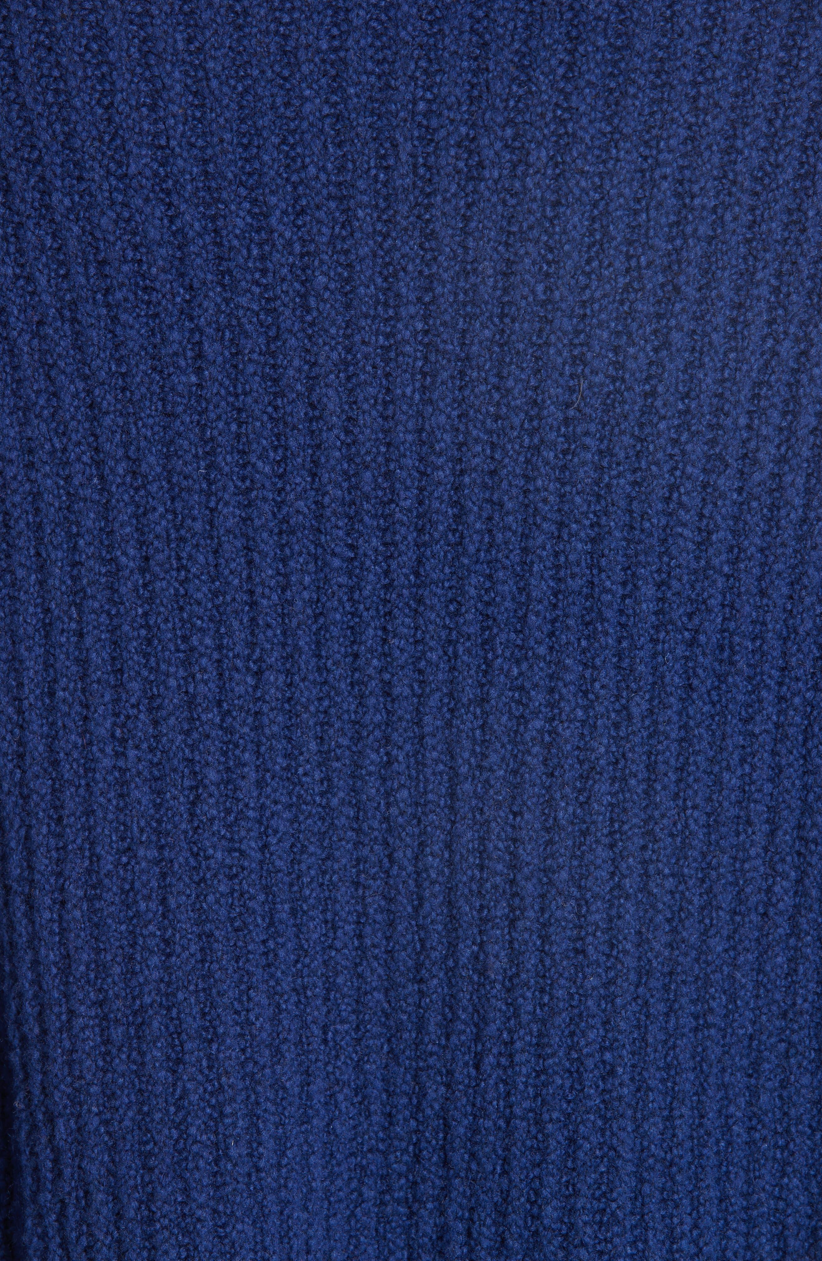 Overlap Panel Sweater,                             Alternate thumbnail 5, color,                             INK