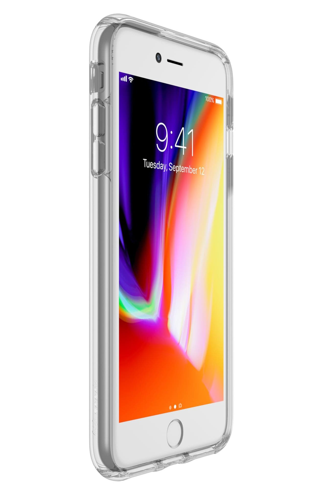 iPhone 6/6s/7/8 Plus Case,                             Alternate thumbnail 7, color,                             CLEAR/ CLEAR