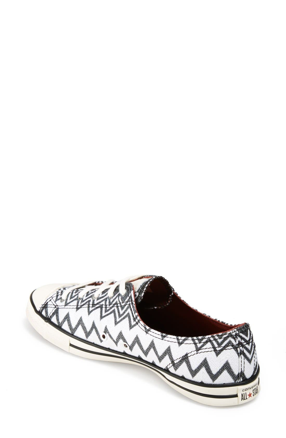 x Missoni Chuck Taylor<sup>®</sup> All Star<sup>®</sup> 'Fancy' Ox Sneaker,                             Alternate thumbnail 2, color,