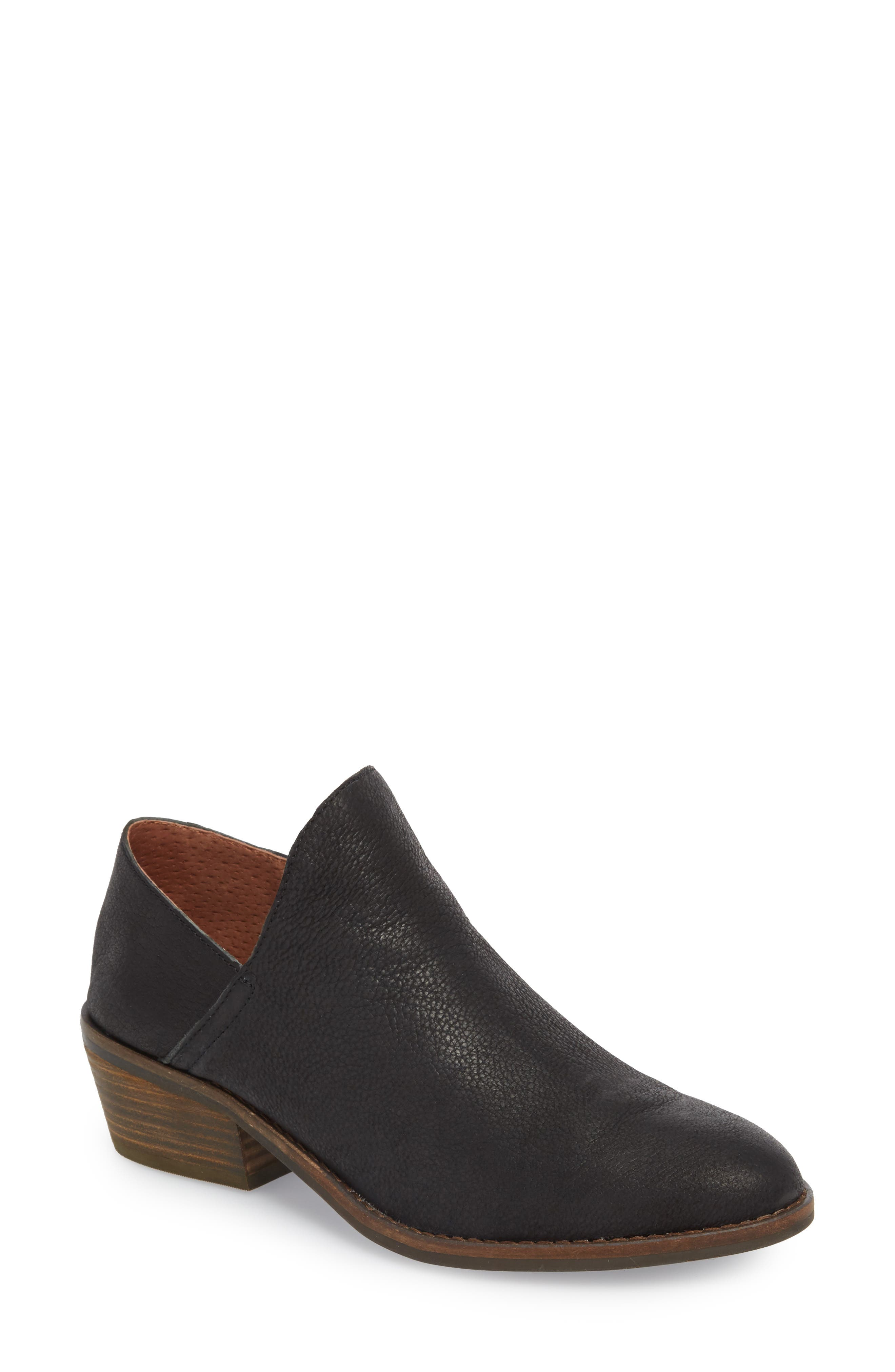 LUCKY BRAND,                             Fausst Bootie,                             Main thumbnail 1, color,                             001