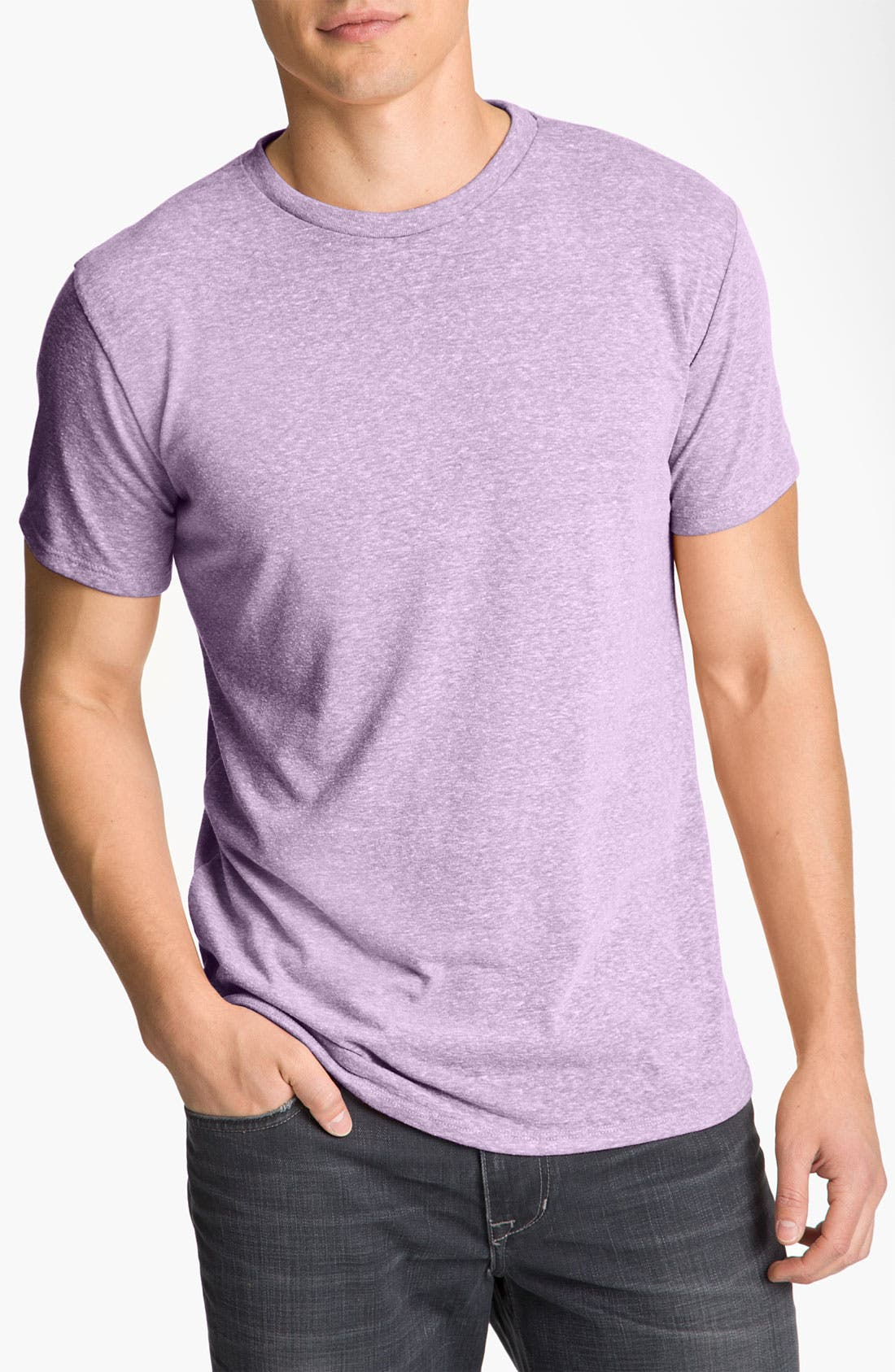 Threads for Thought Heathered Crew Neck,                             Main thumbnail 11, color,