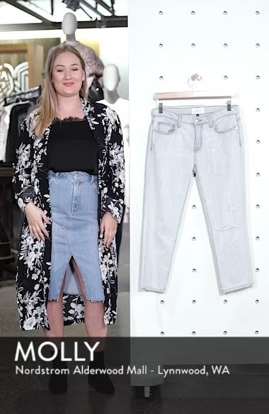 The Cropped Straight Leg Jeans, sales video thumbnail