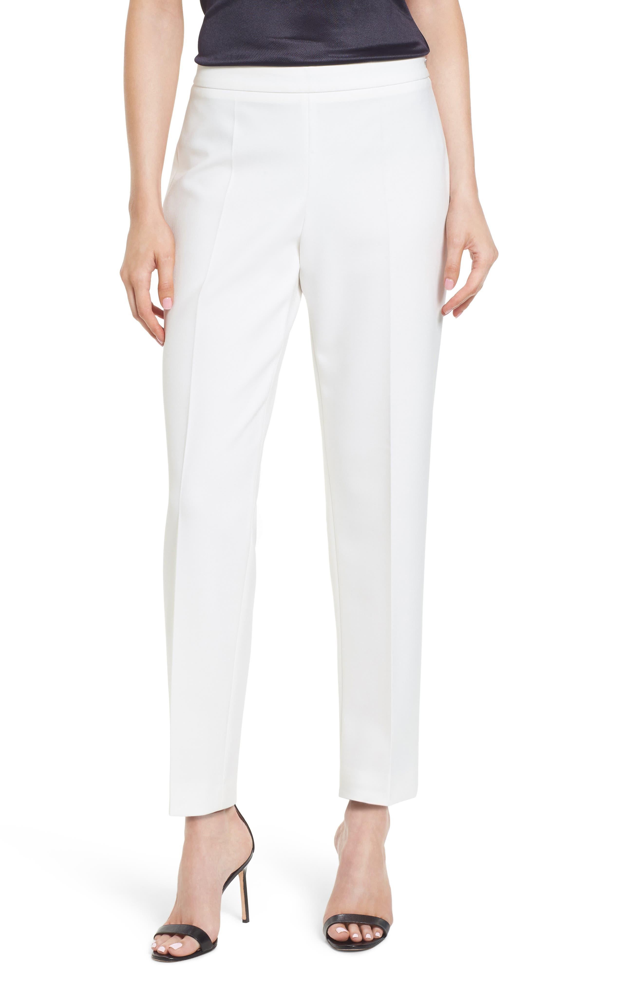 Tiluna Side Zip Ponte Trousers,                         Main,                         color,