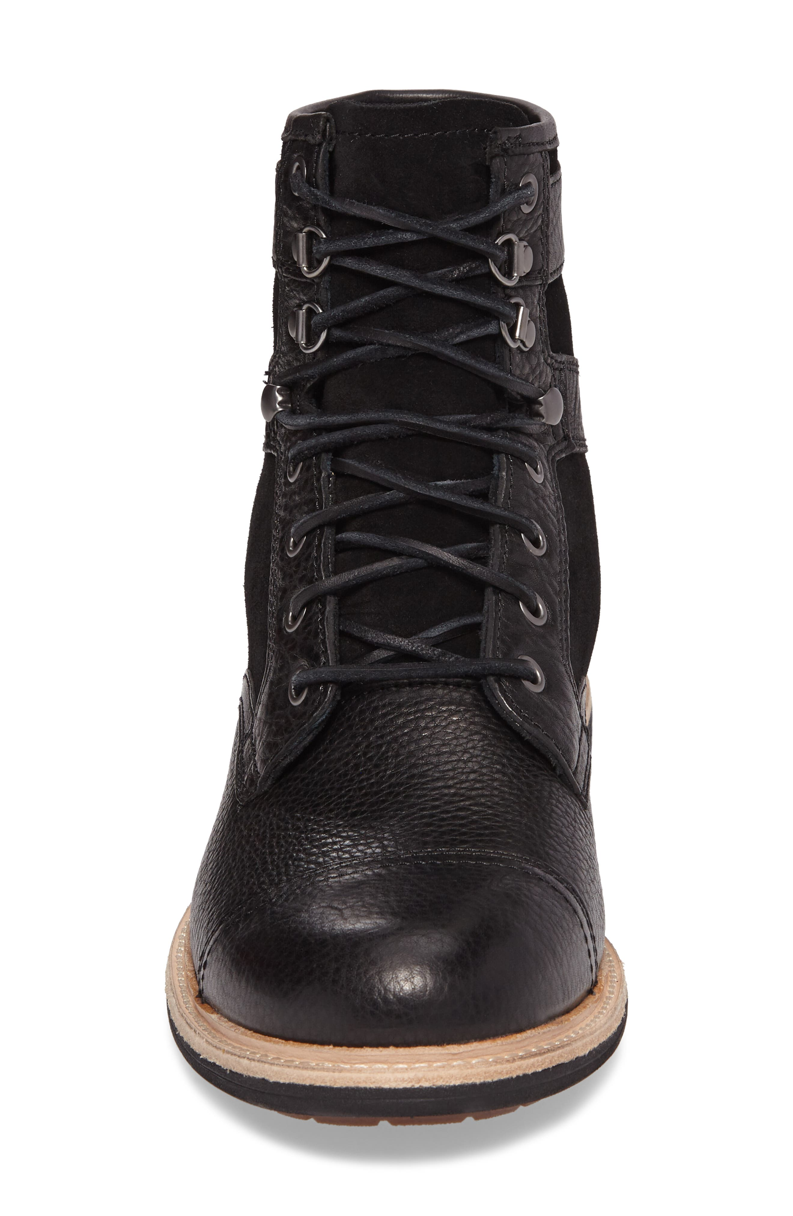 UGG<SUP>®</SUP>,                             Magnusson Cap Toe Boot,                             Alternate thumbnail 4, color,                             001