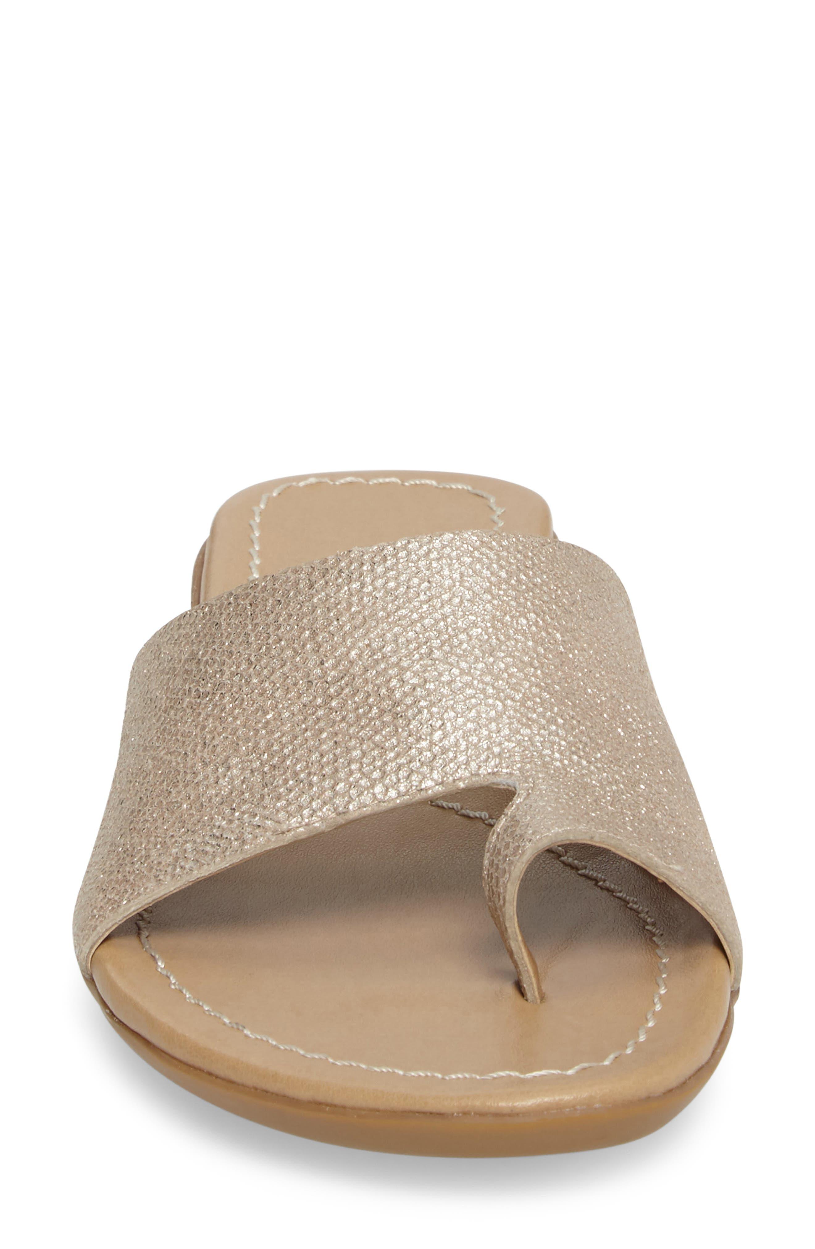 'Tallis' Snake Embossed Leather Slide Sandal,                             Alternate thumbnail 23, color,