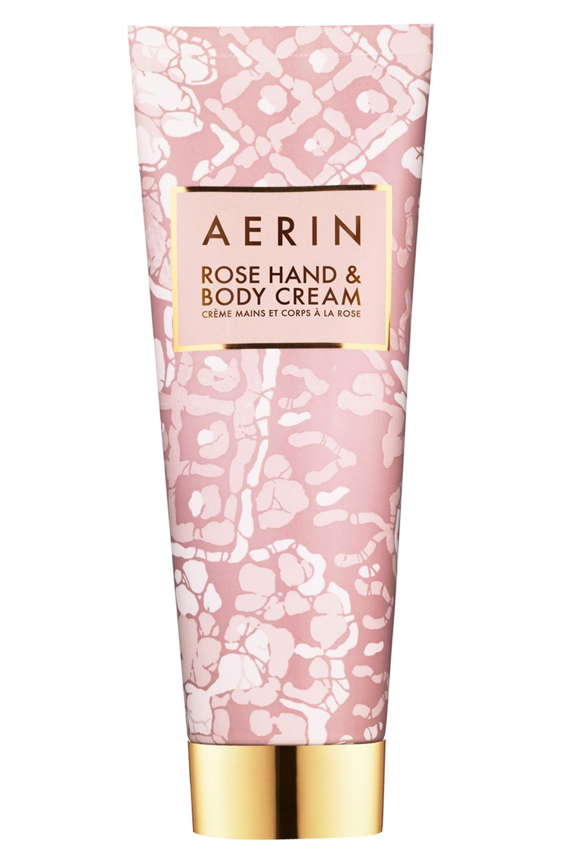 AERIN Beauty Rose Hand & Body Cream,                             Alternate thumbnail 2, color,                             NO COLOR