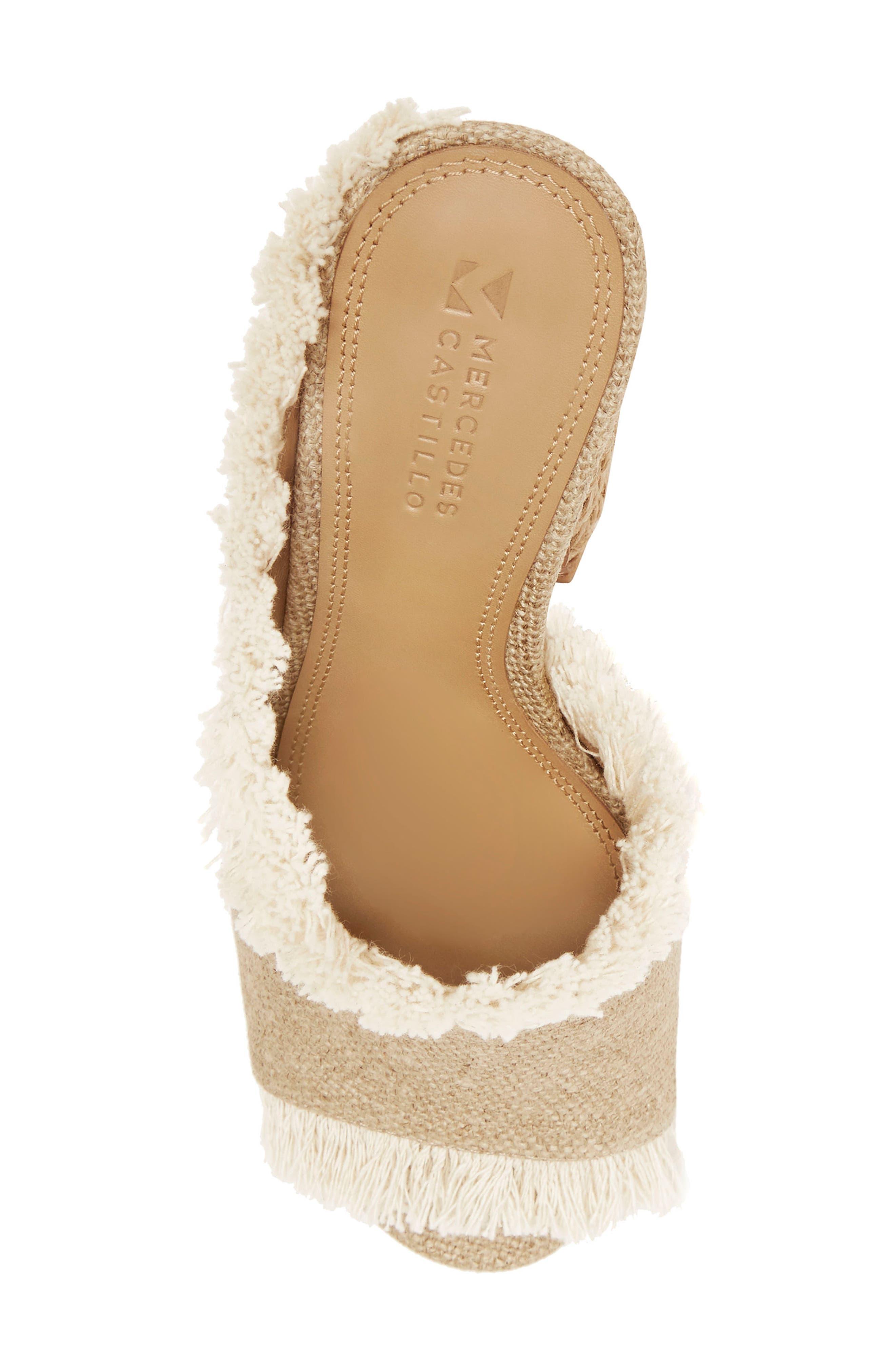 Izar Fringe Asymmetrical Sandal,                             Alternate thumbnail 5, color,                             250