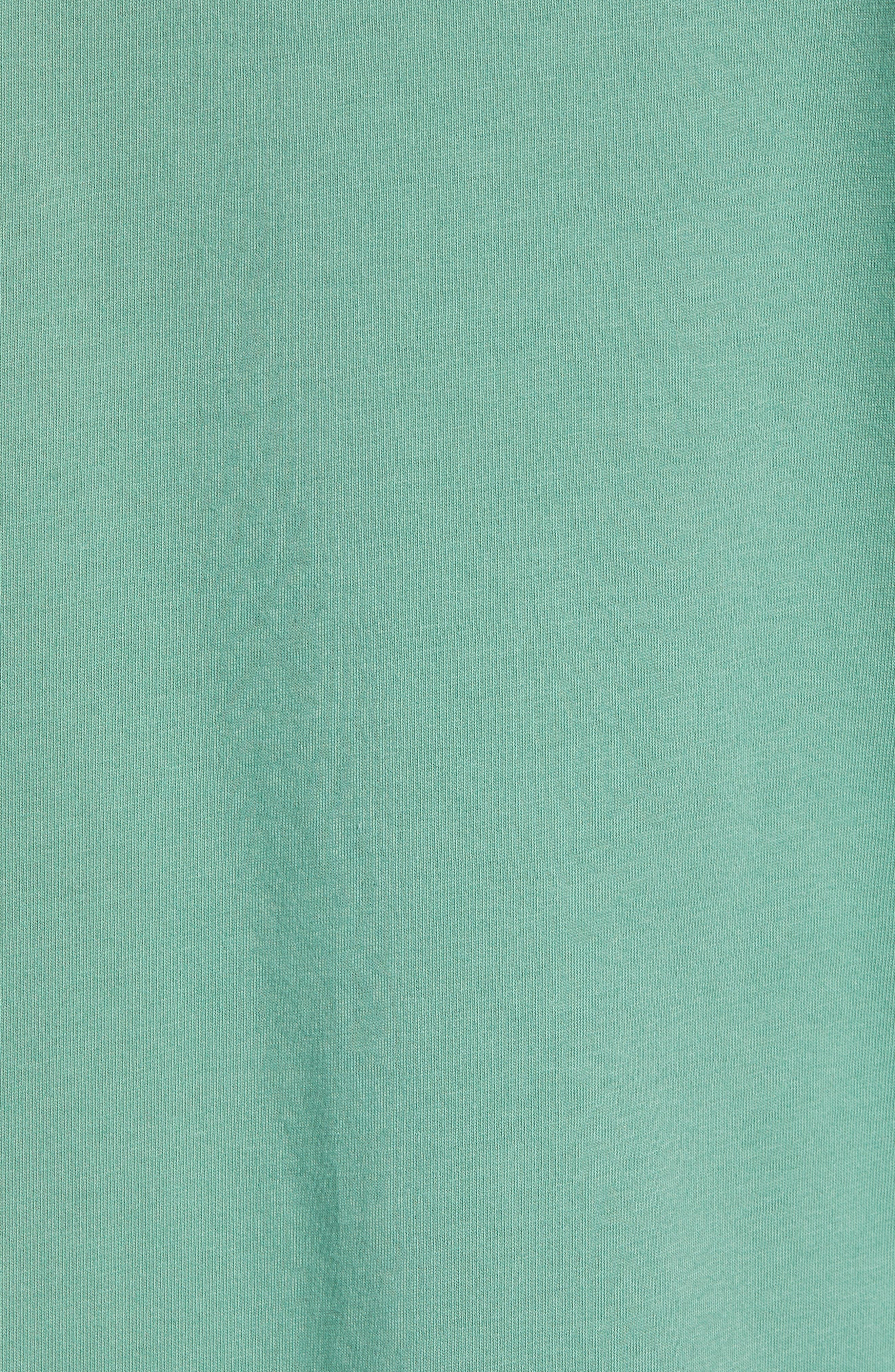 Fish Scale Pocket T-Shirt,                             Alternate thumbnail 5, color,                             STARBOARD GREEN