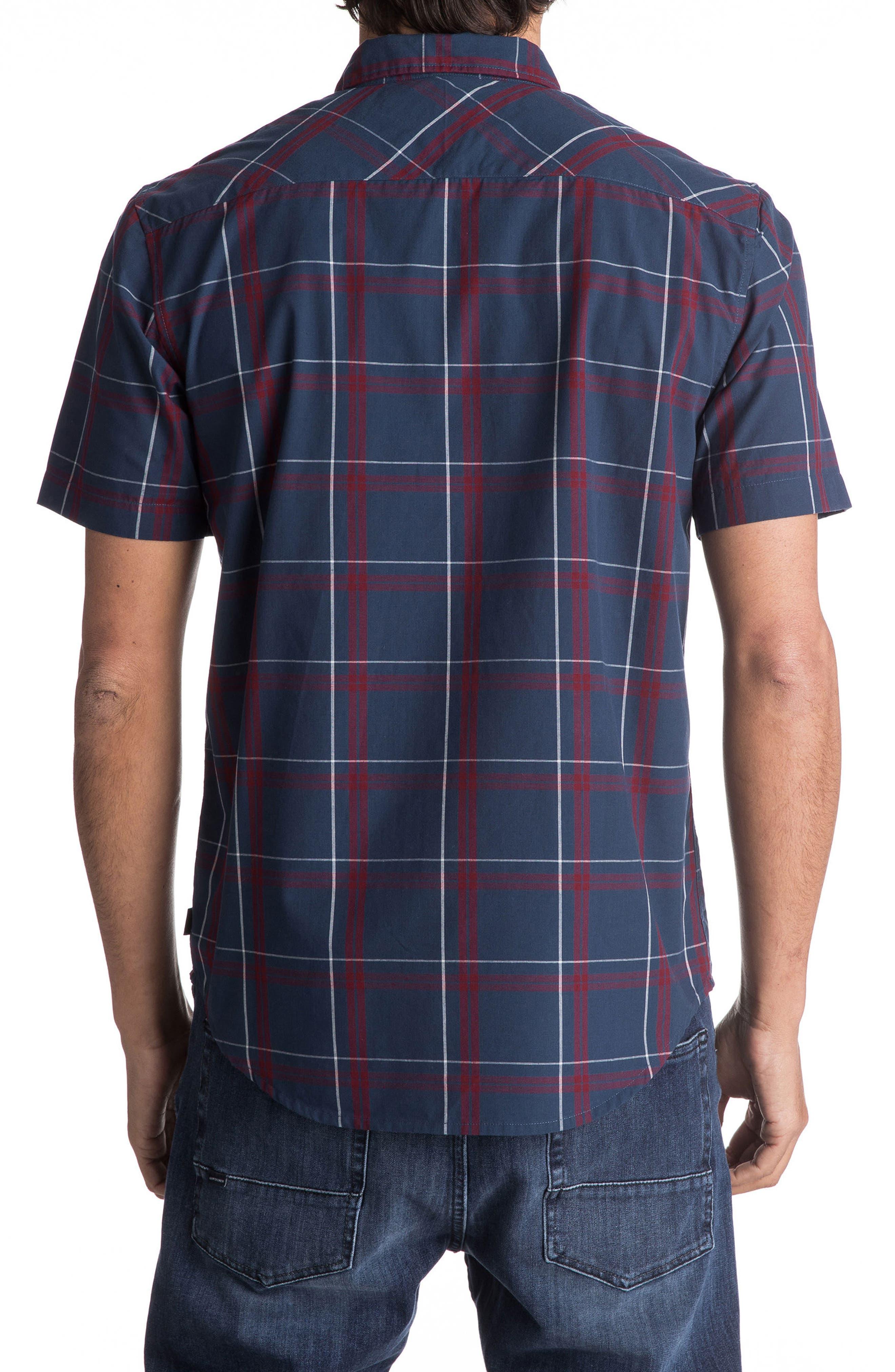 Capen Rise Check Woven Shirt,                             Alternate thumbnail 4, color,