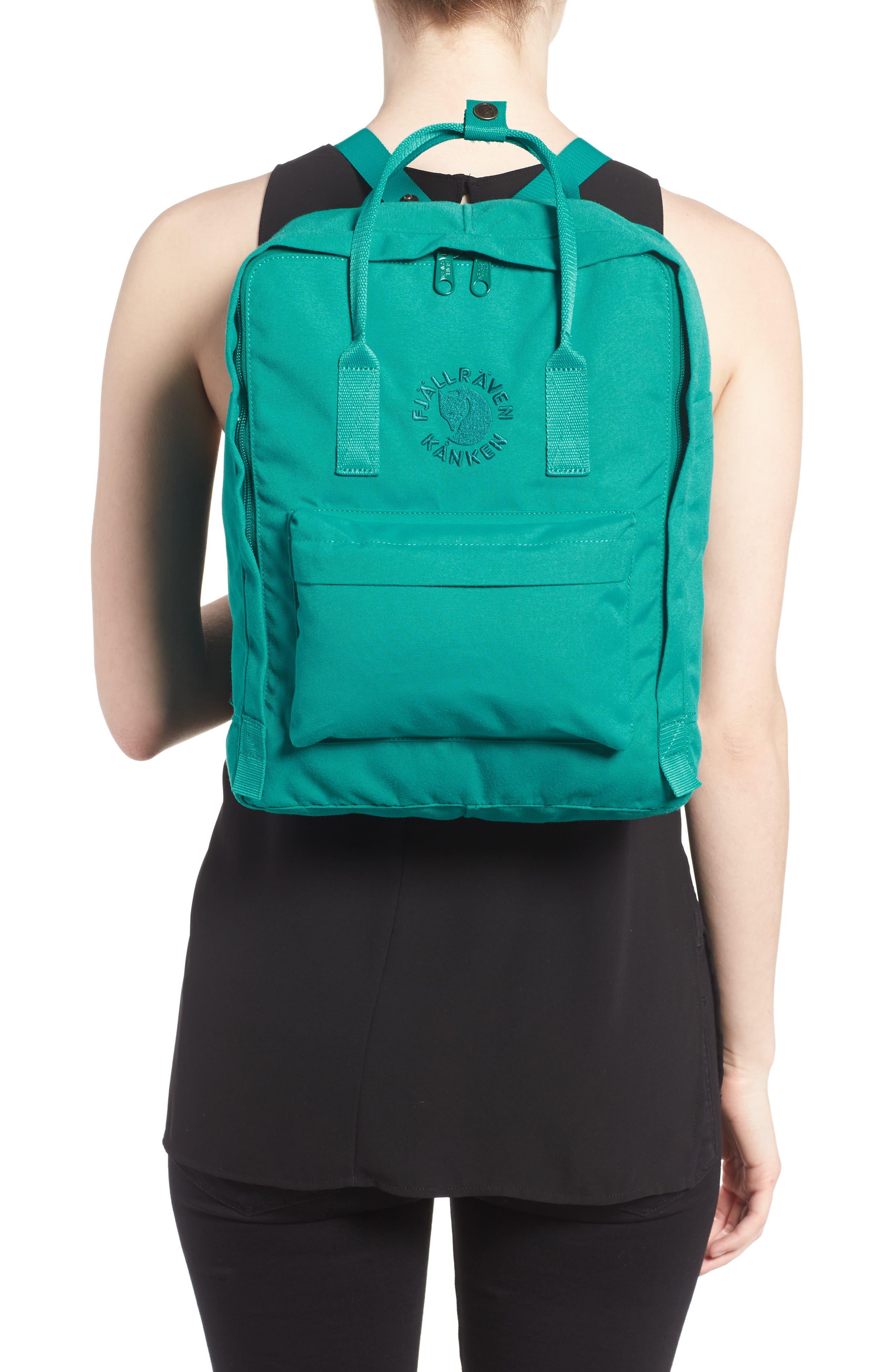 Re-Kånken Water Resistant Backpack,                             Alternate thumbnail 2, color,                             EMERALD