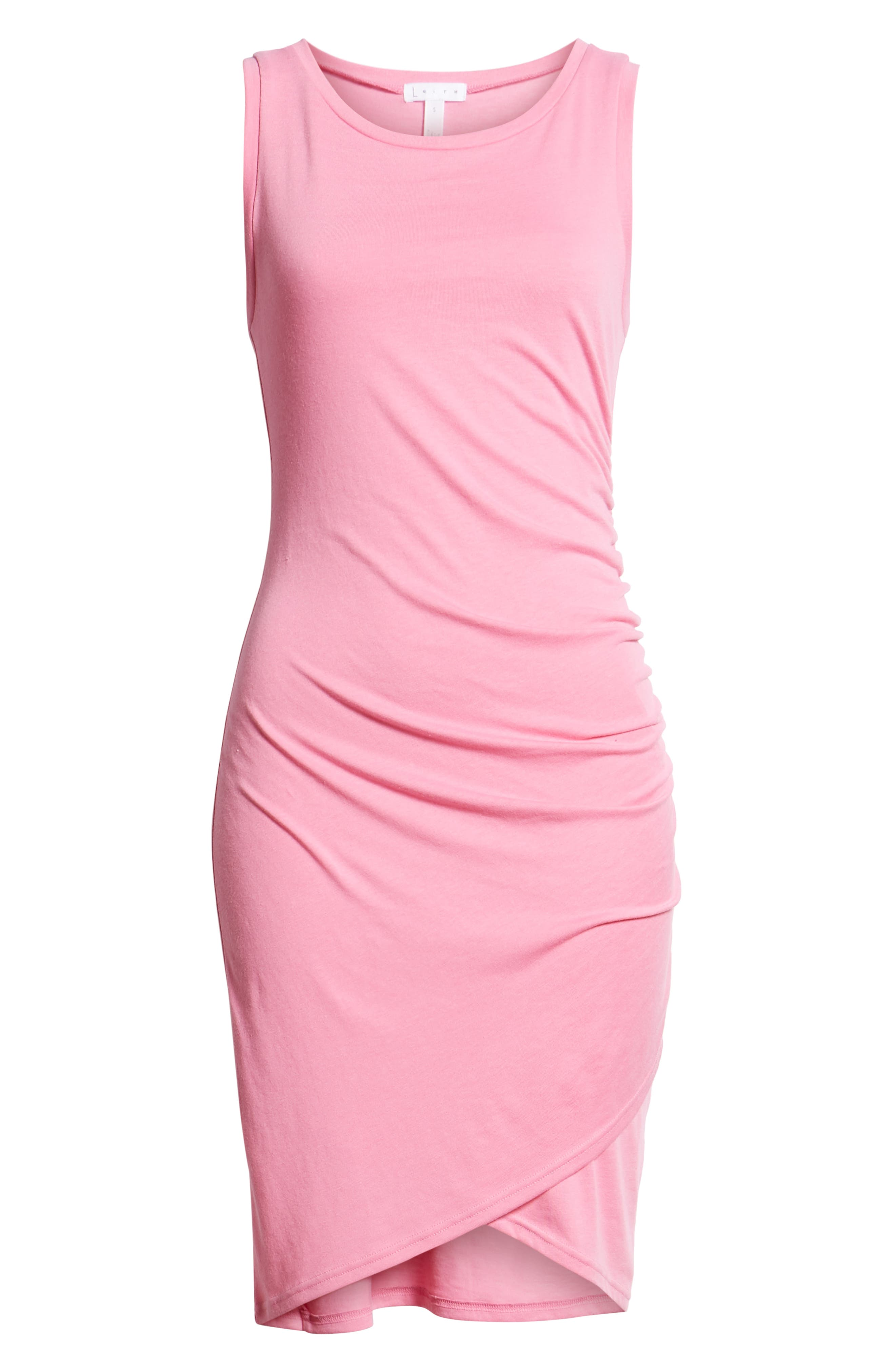 Ruched Body-Con Tank Dress,                             Alternate thumbnail 179, color,