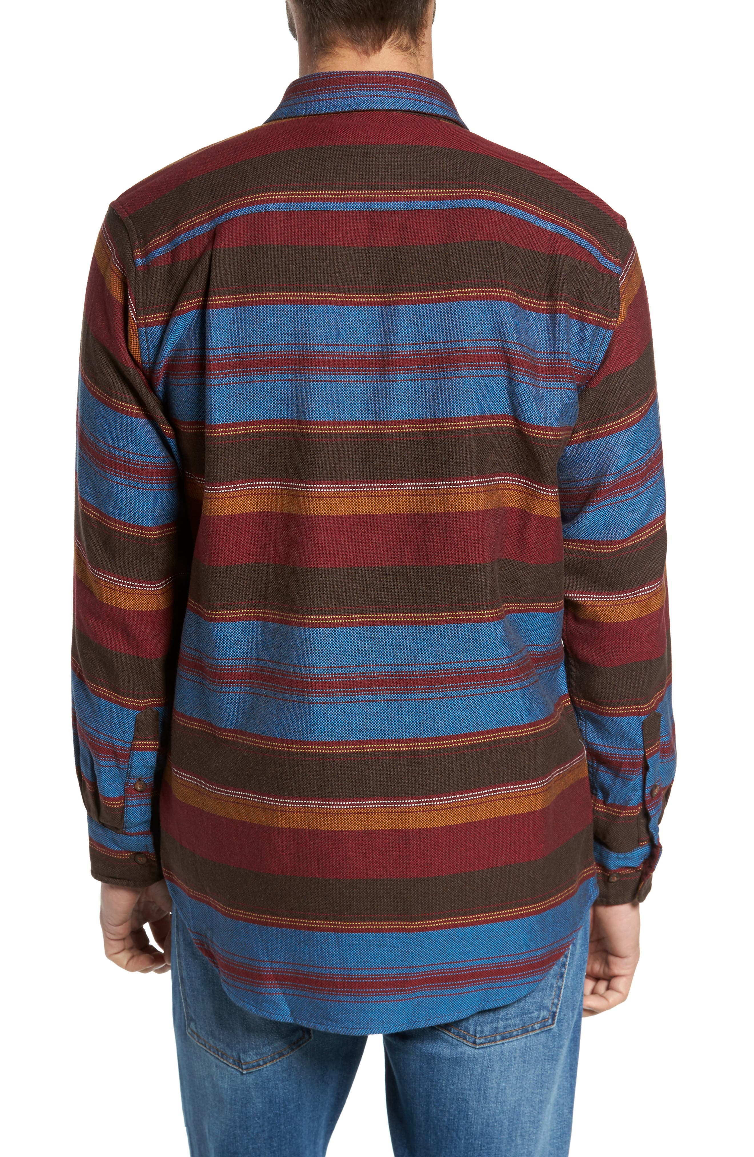 Camber Striped Sport Shirt,                             Alternate thumbnail 2, color,                             206