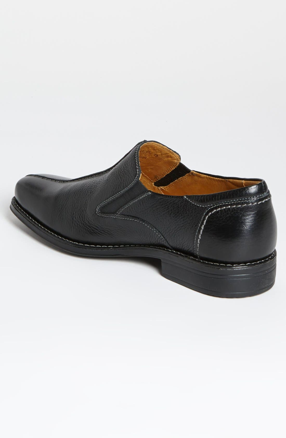 'Tampa' Loafer,                             Alternate thumbnail 2, color,                             BLACK