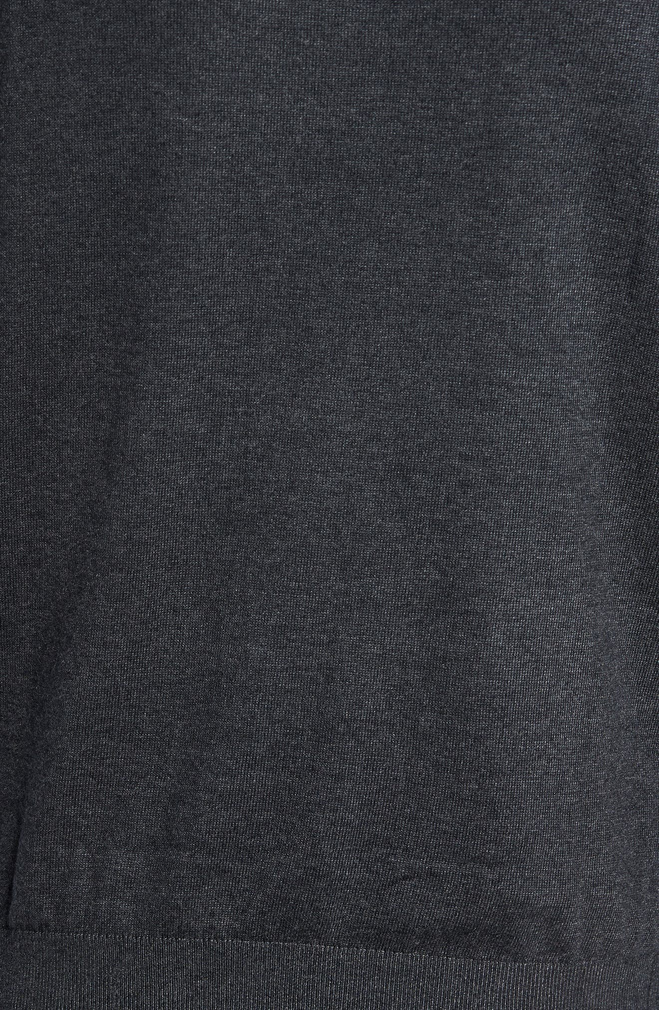 Pepmint Herringbone Sleeve Sweatshirt,                             Alternate thumbnail 9, color,