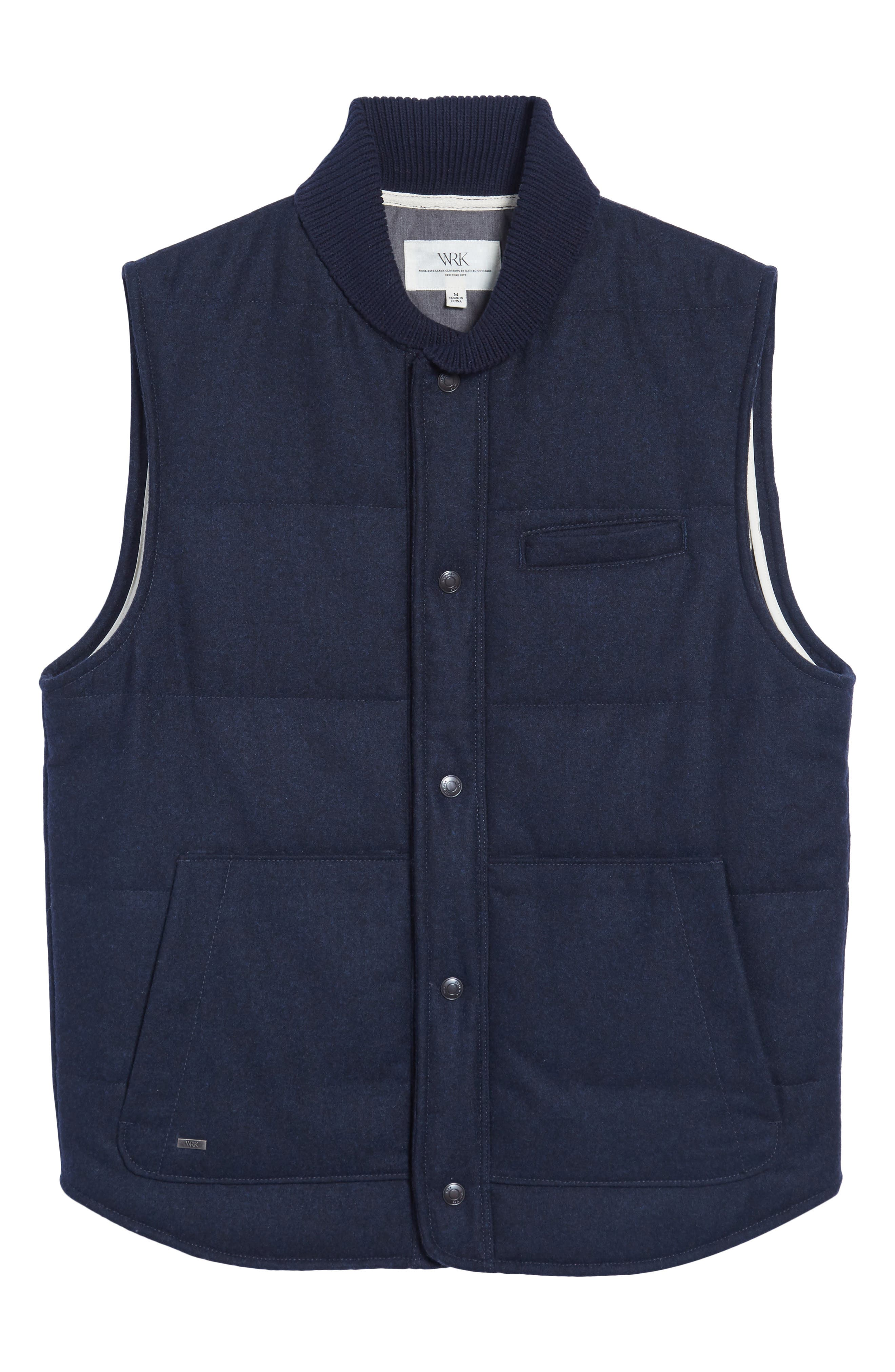 Quilted Work Vest,                             Alternate thumbnail 5, color,                             410