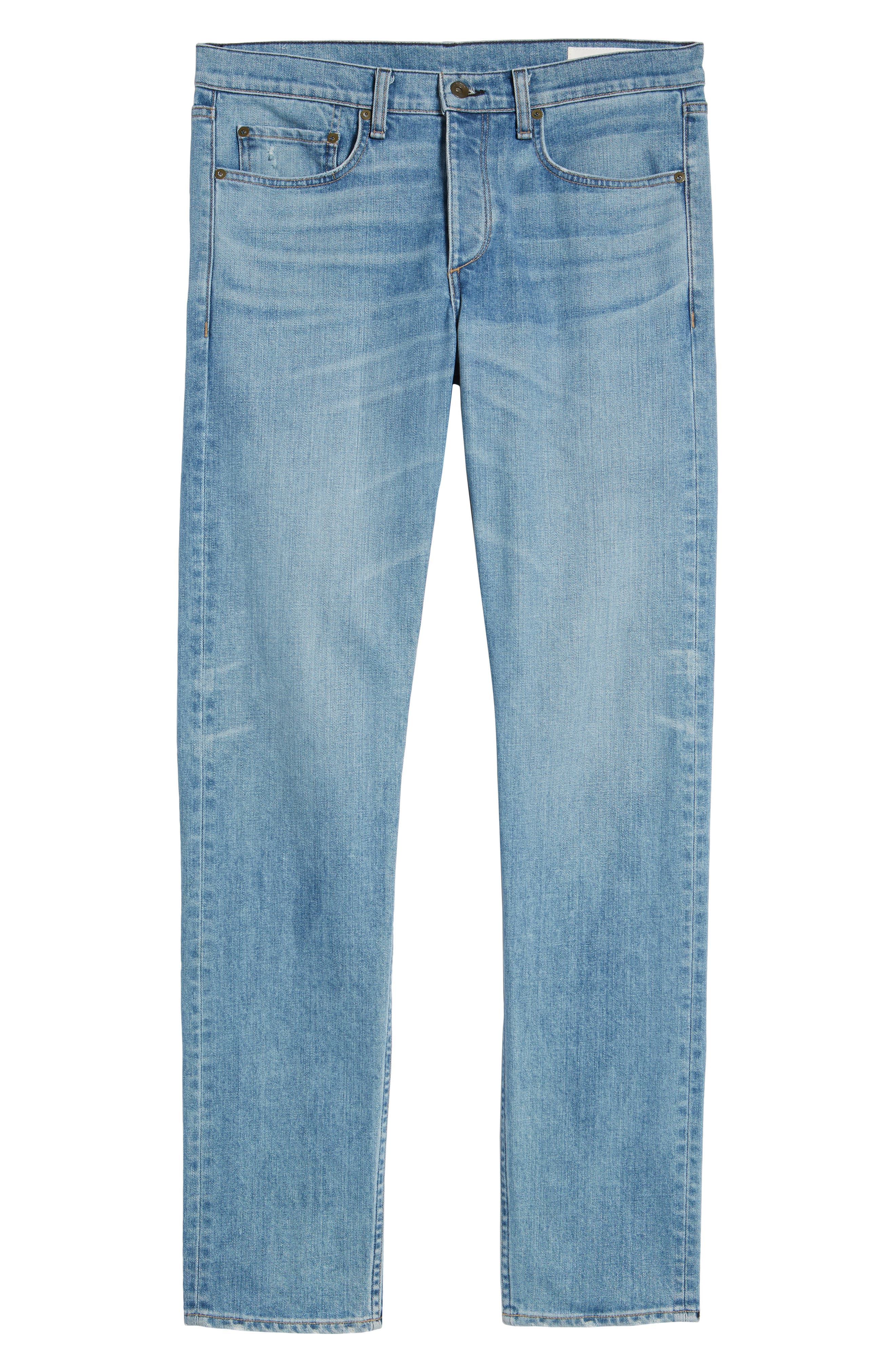 Fit 2 Slim Fit Jeans,                             Alternate thumbnail 6, color,                             PYLLE