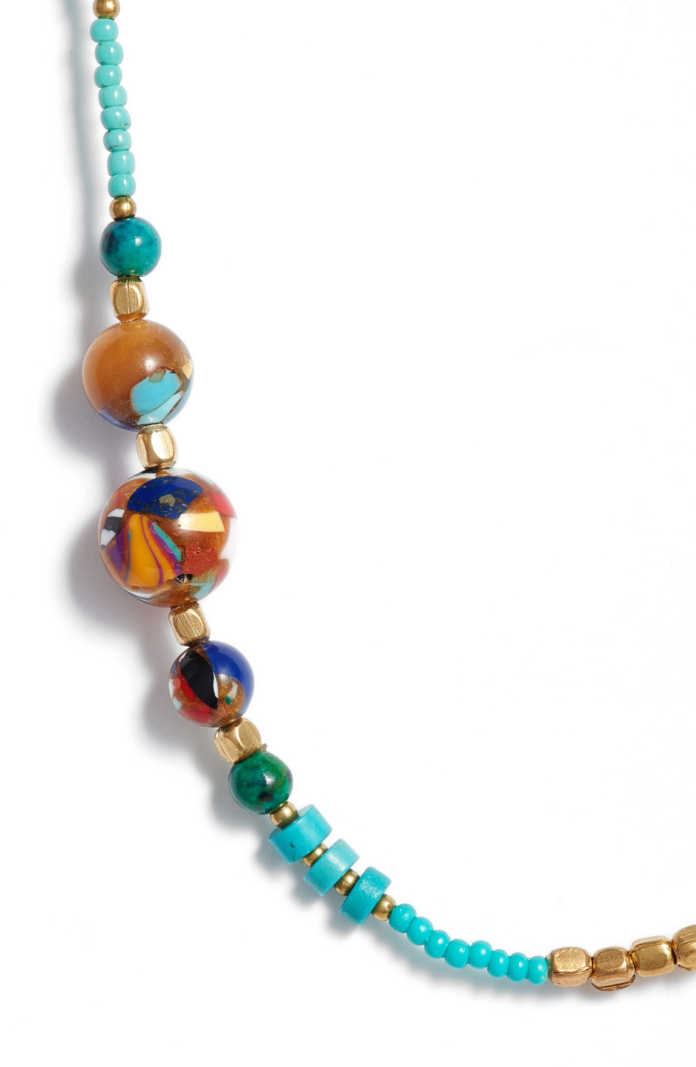 Multi Bead Necklace,                         Main,                         color,