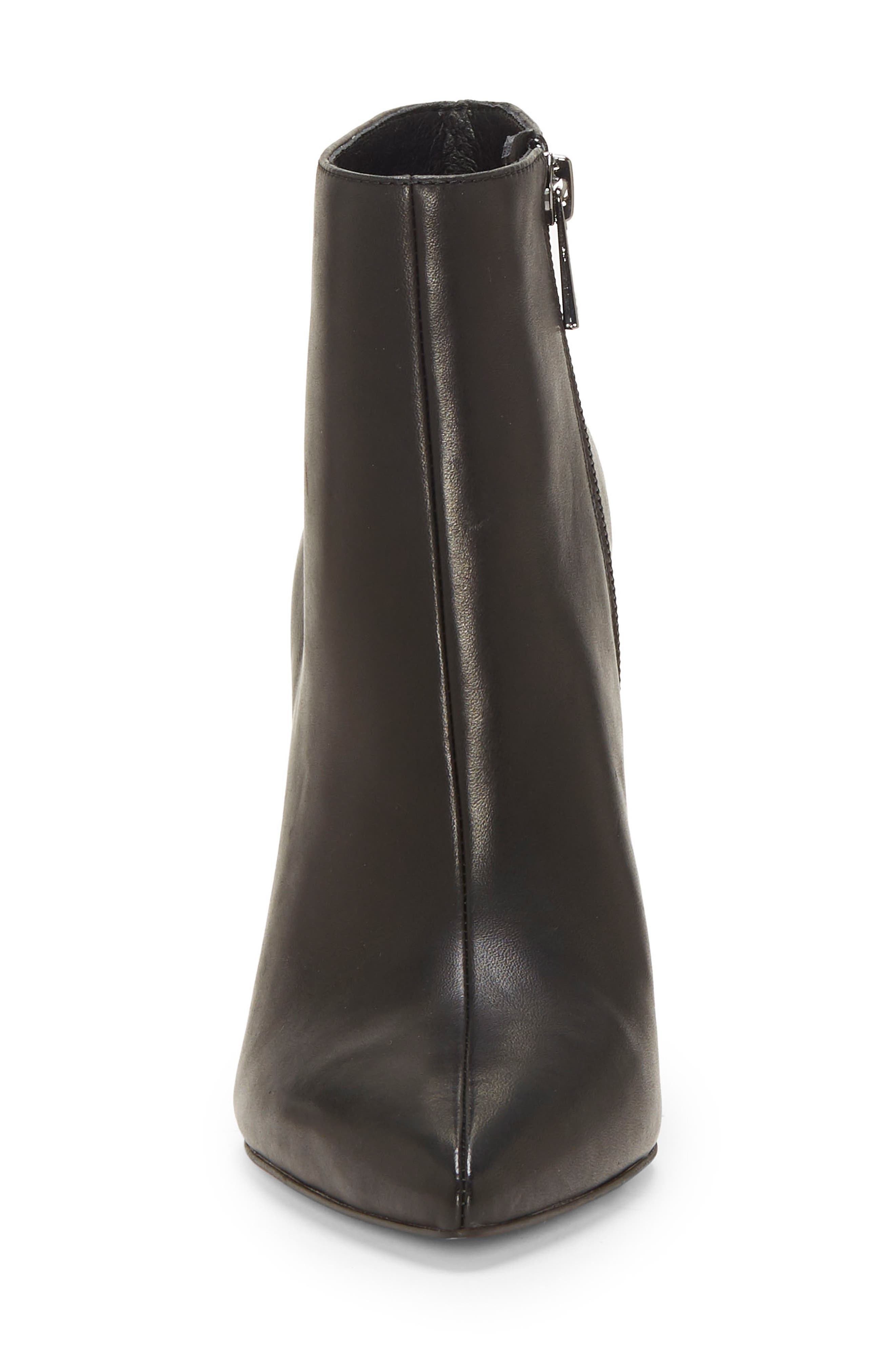 Perci Bootie,                             Alternate thumbnail 4, color,                             BLACK LEATHER