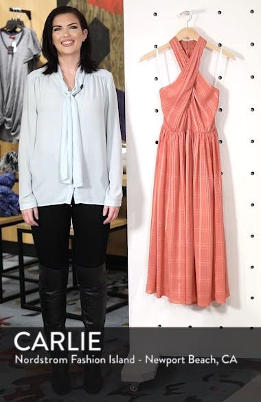 Mia Twist Chiffon Midi Dress, sales video thumbnail