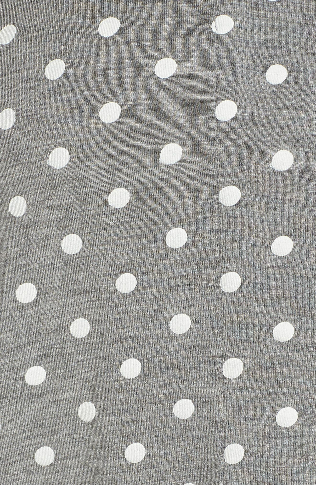 Modal Three-Quarter Sleeve Short Pajamas,                             Alternate thumbnail 5, color,                             027